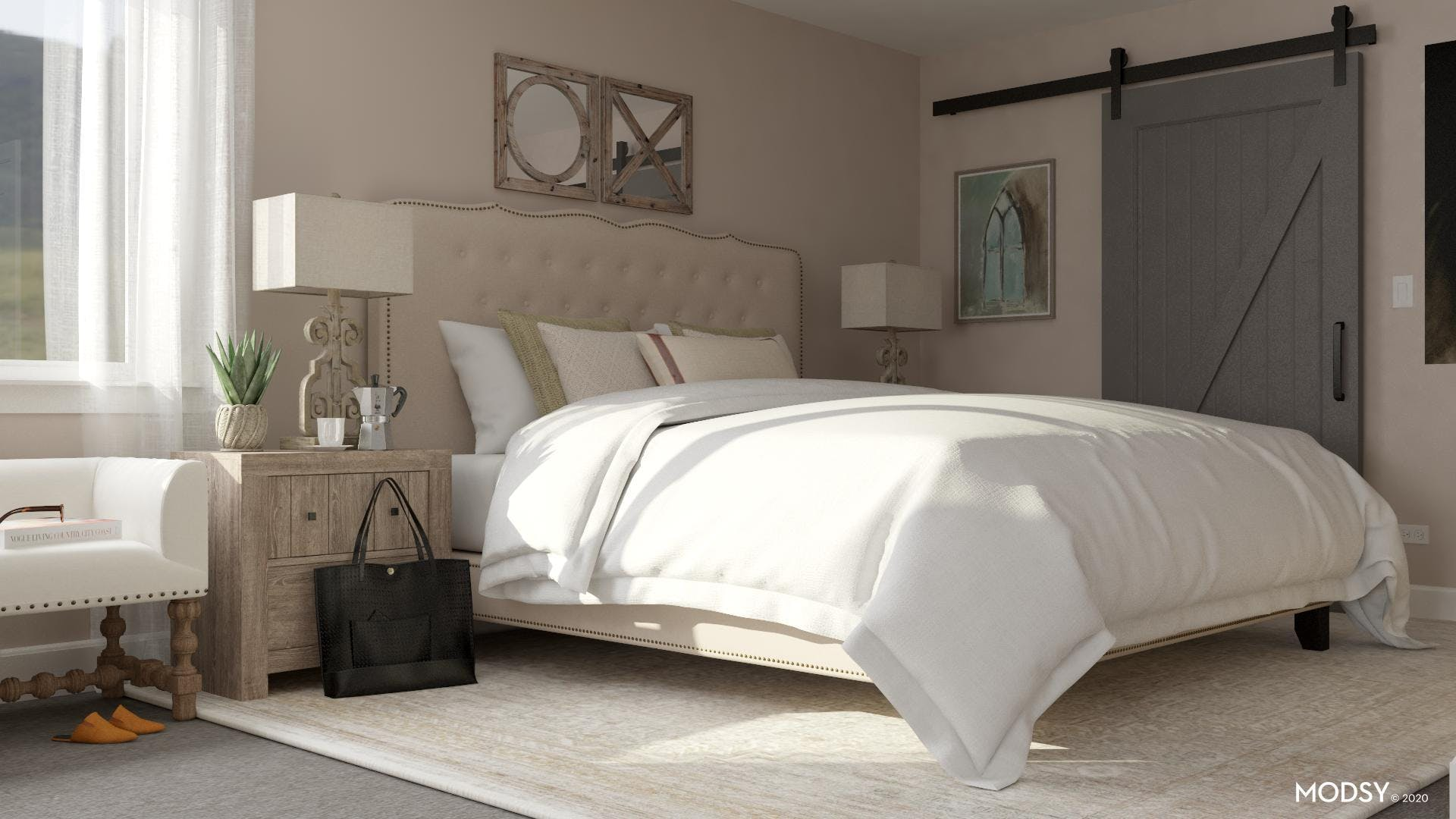 The Tufted Dream Bed