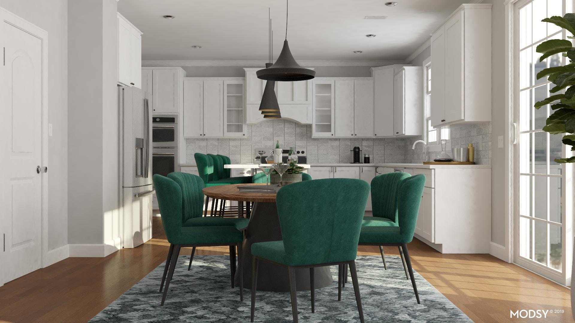 Party-Ready Dine-In Kitchen
