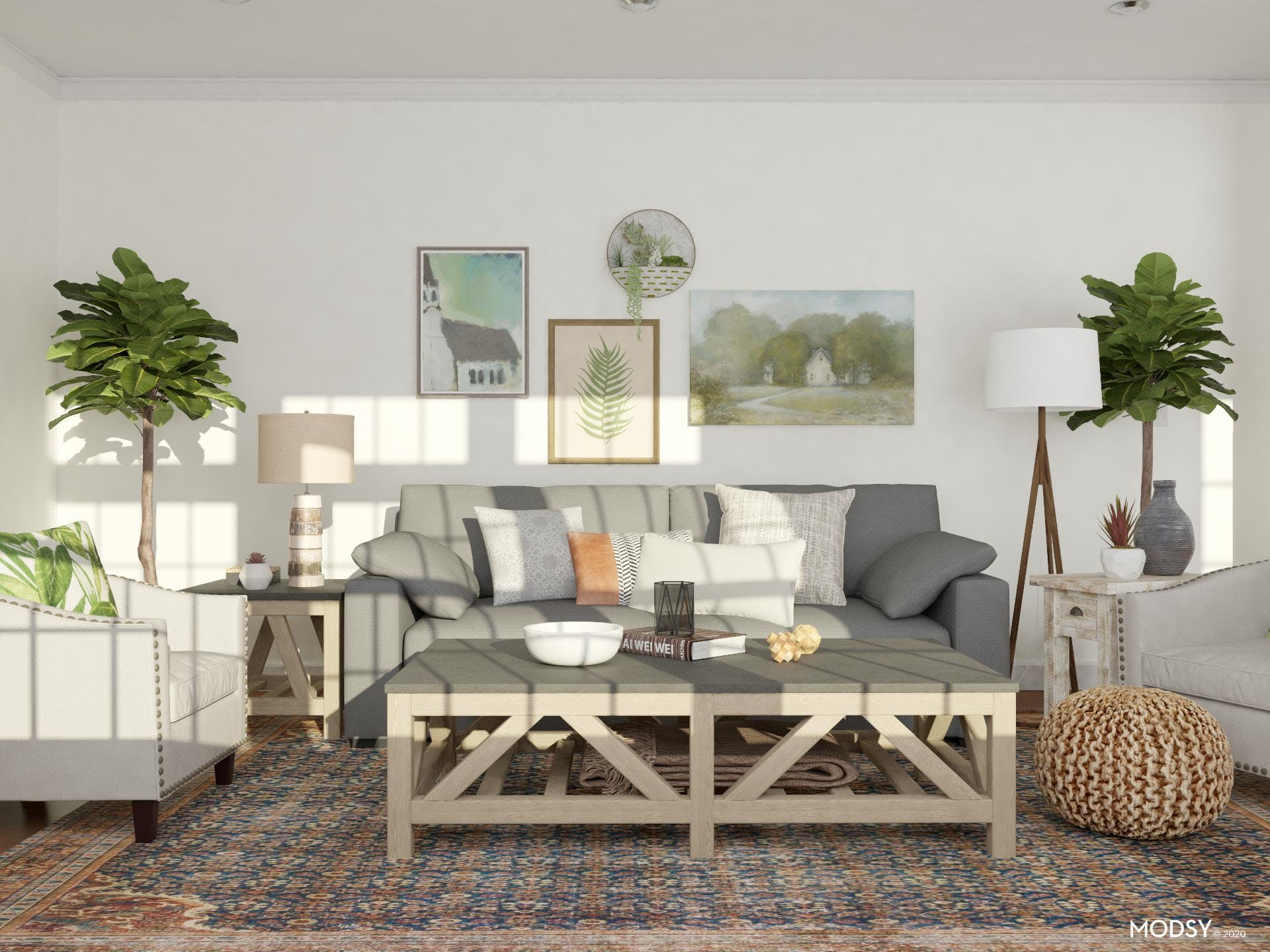 Lounging About: Rustic Living