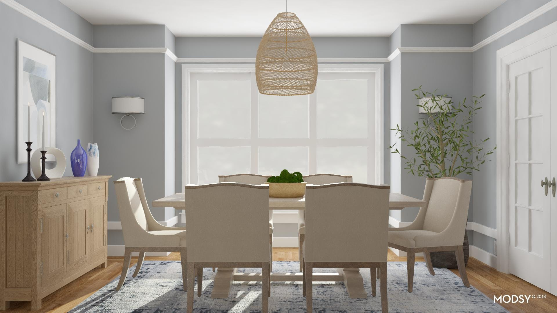 Classically Chic Dining Room