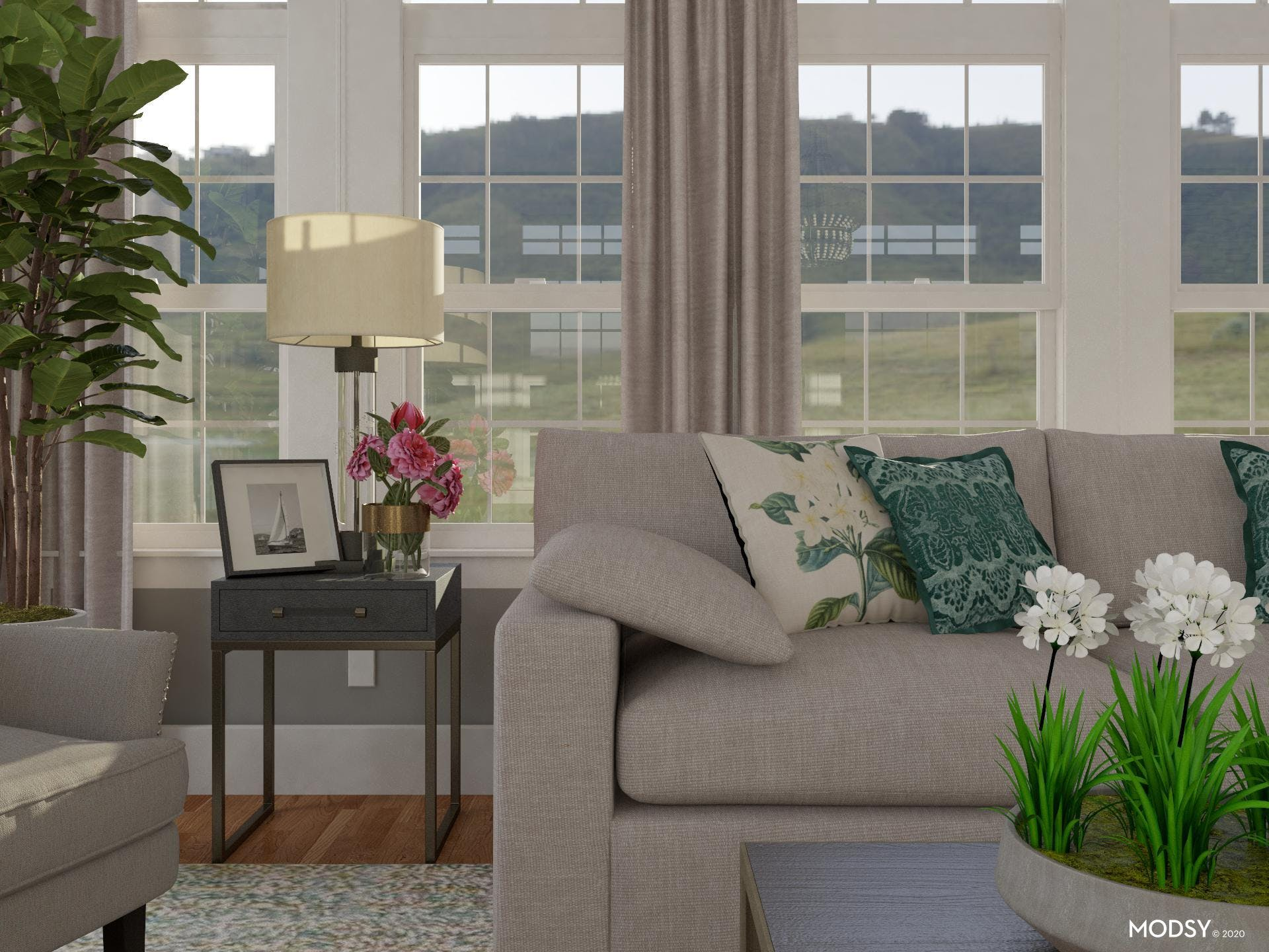 It's All In The Details For This Classic Living Room