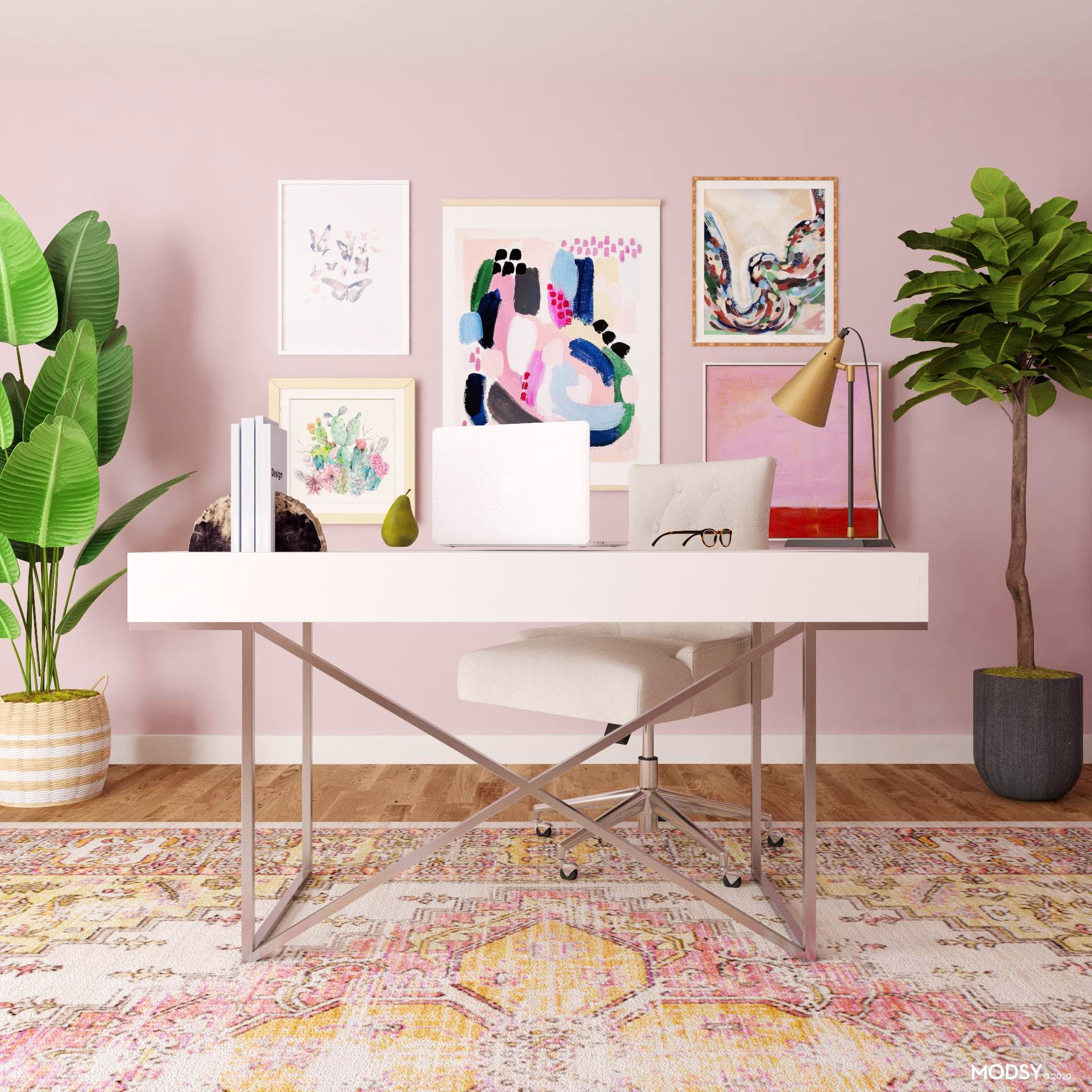A Transitional Office: Pastels