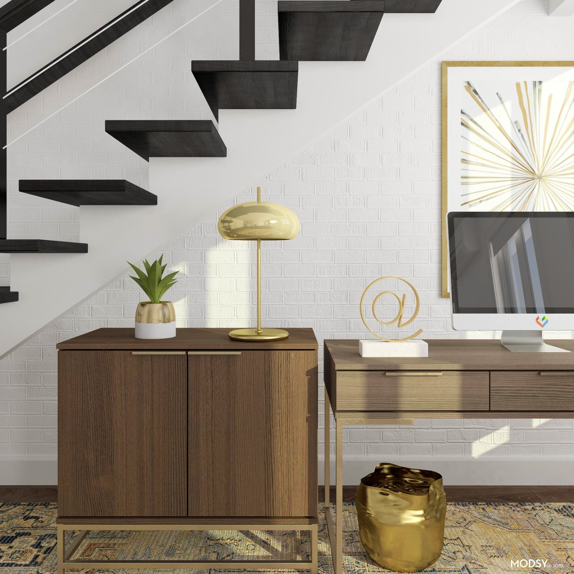 Home Office: Gold Details