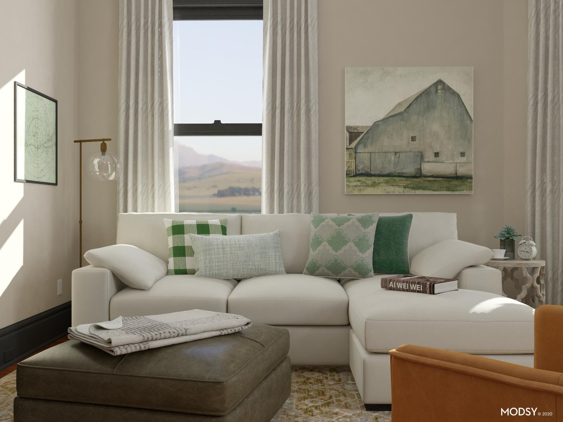 Country Fields: Rustic Living