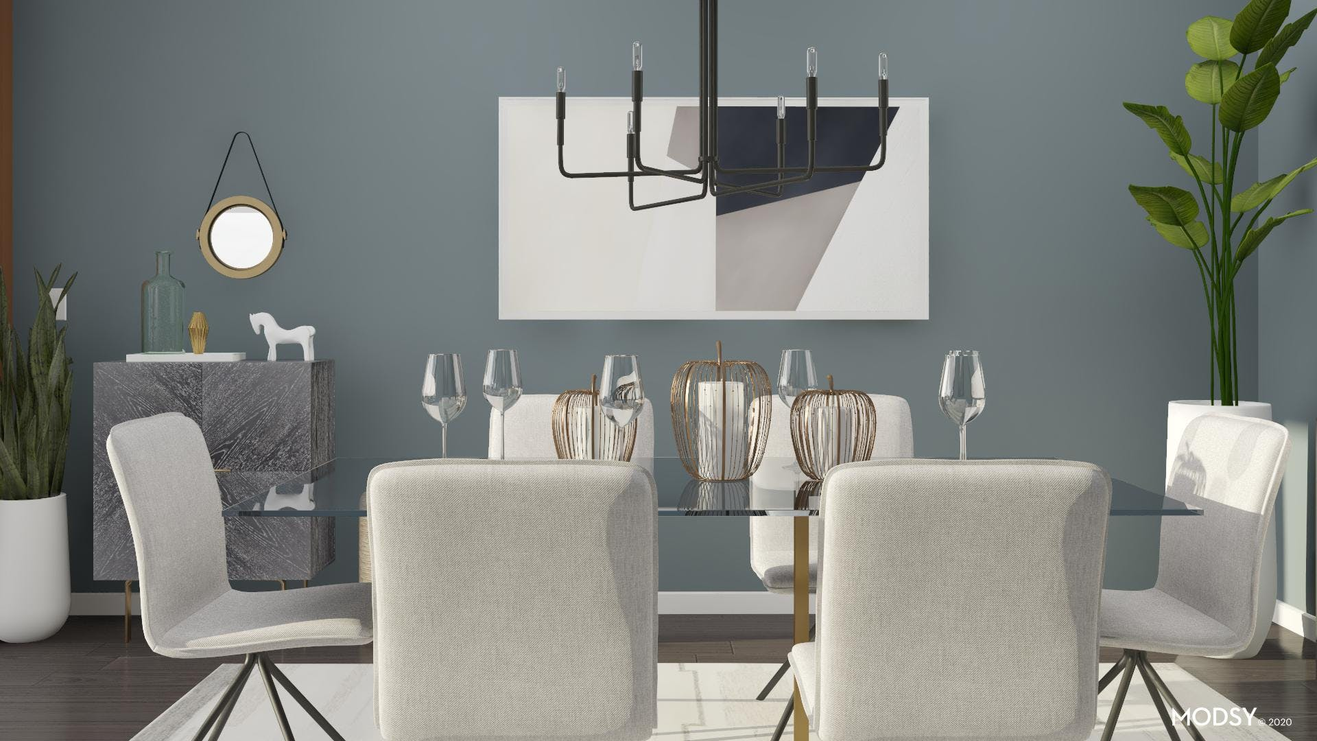 Dine with Contemporary Style