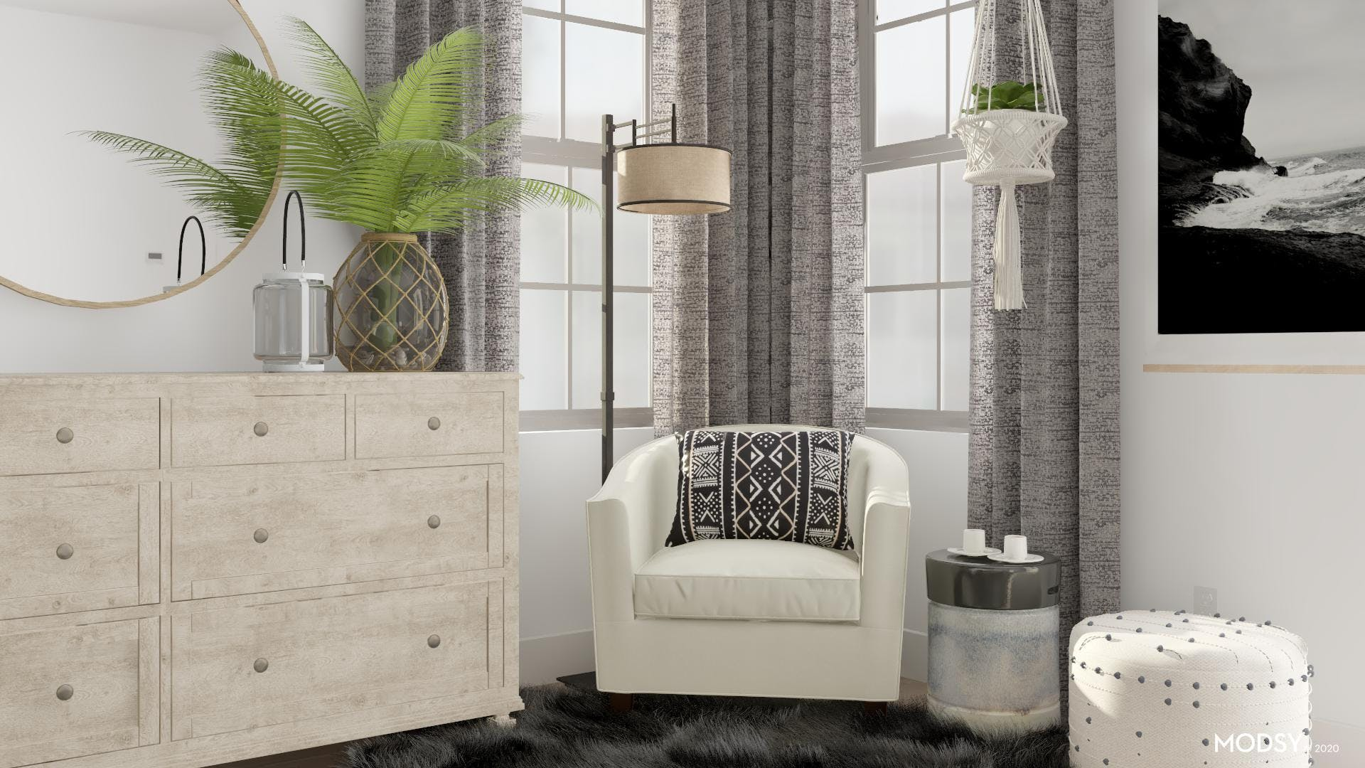 Cozy Contrasts In Color And Texture