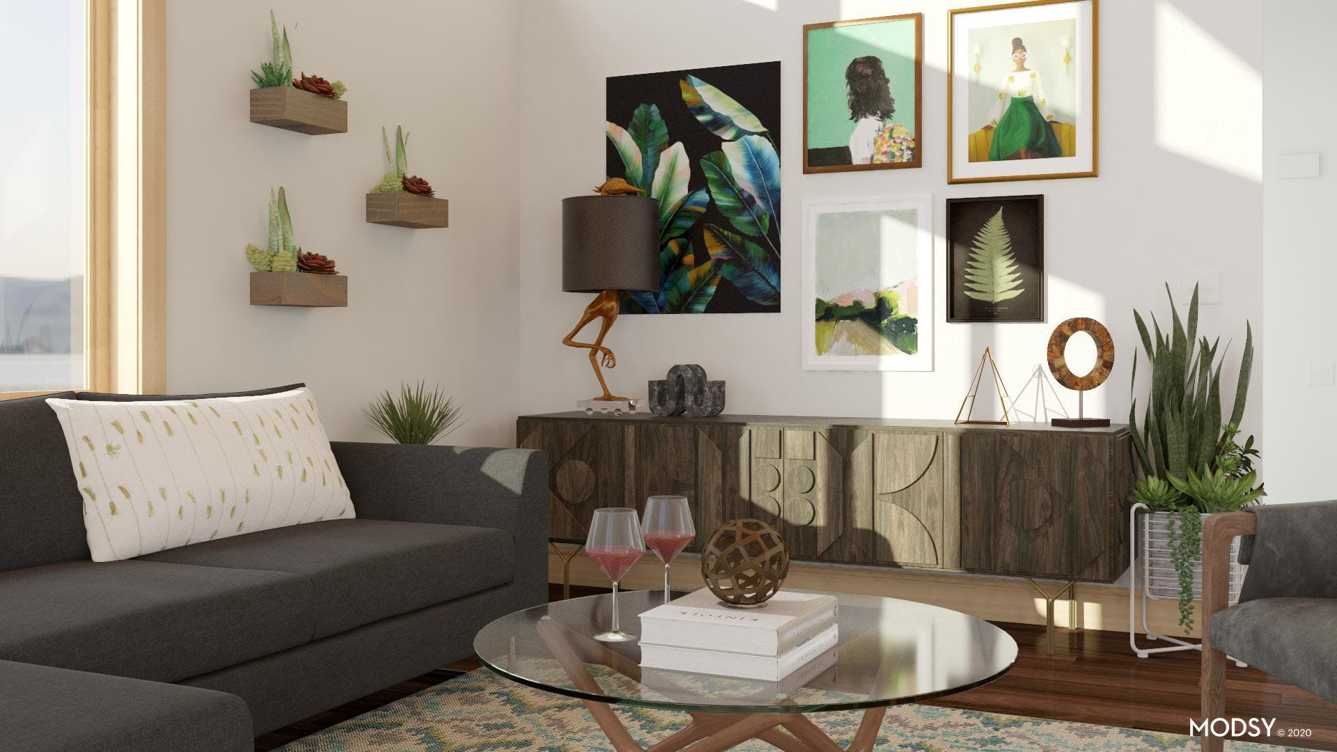 Lively Details: Adding Plants To A Room