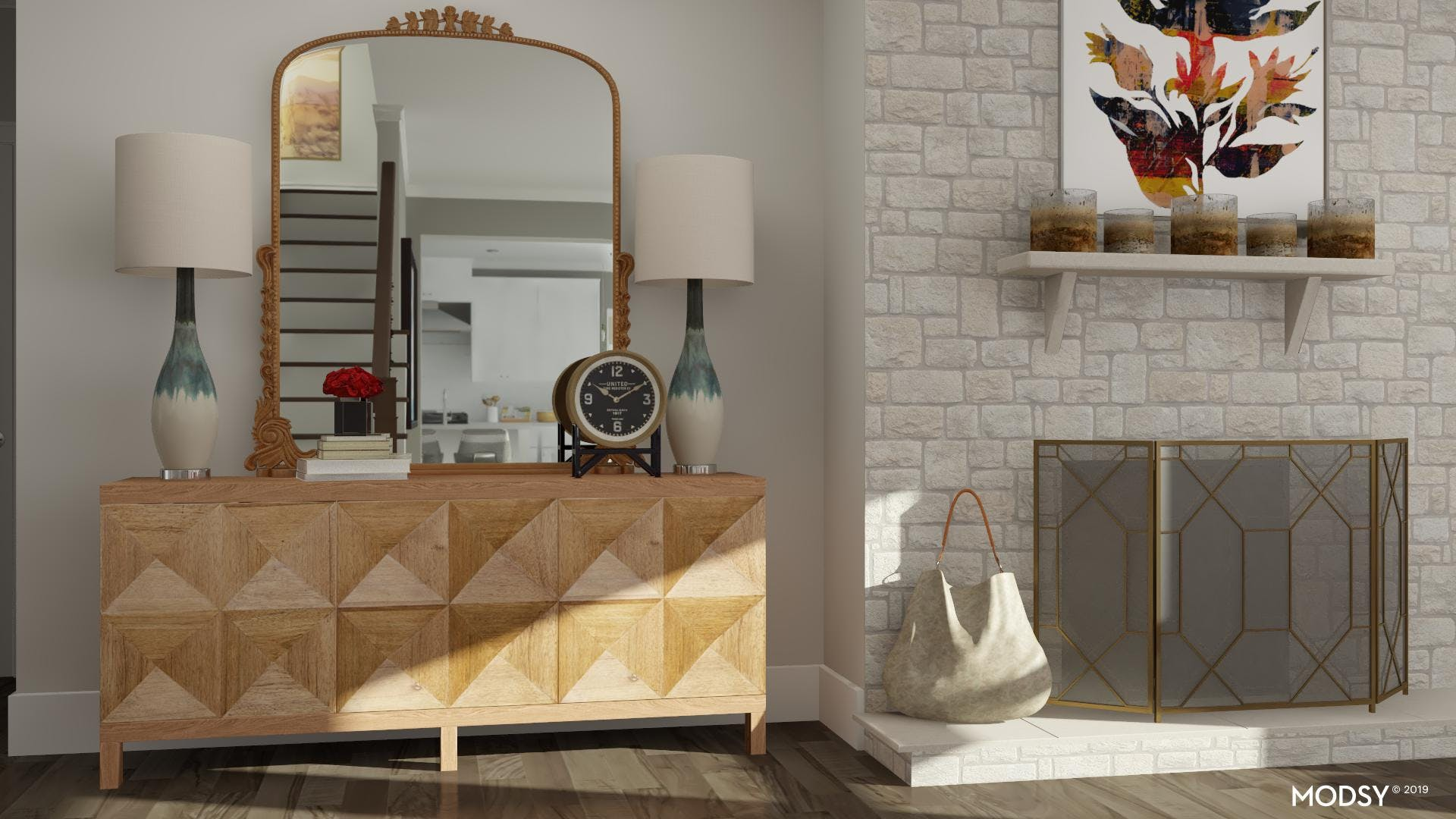 The Statement Piece: Rustic