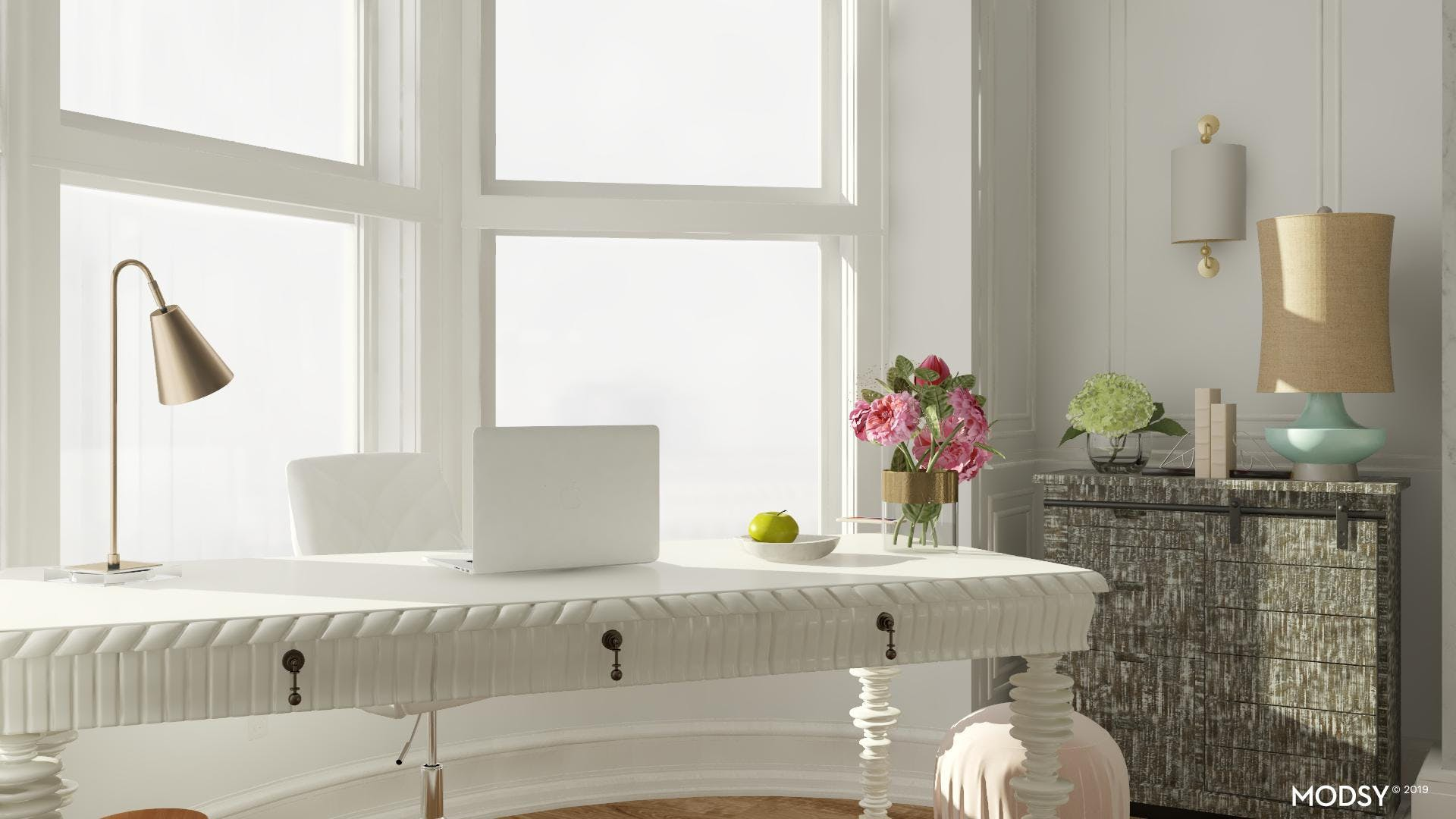 Transitional Details: Home Office