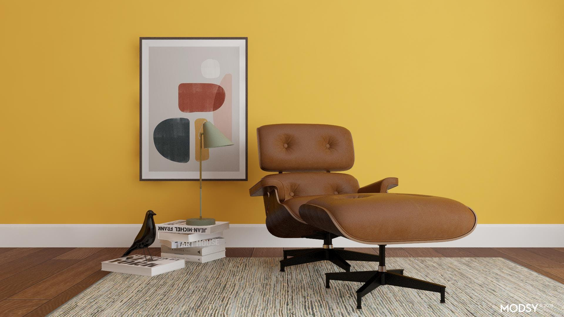 An Iconic Mid-Century Lounge