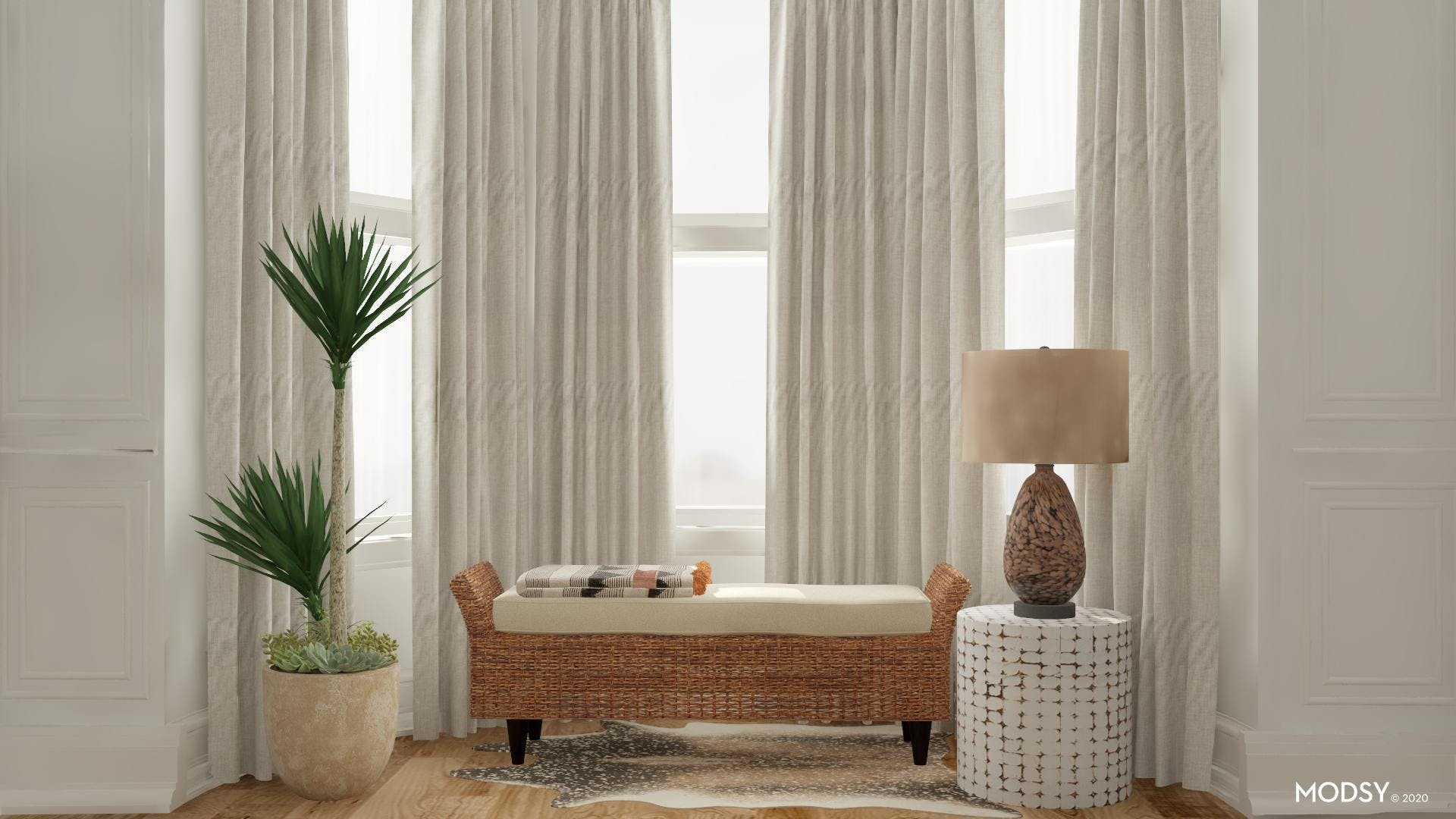 Eclectic Window Seating