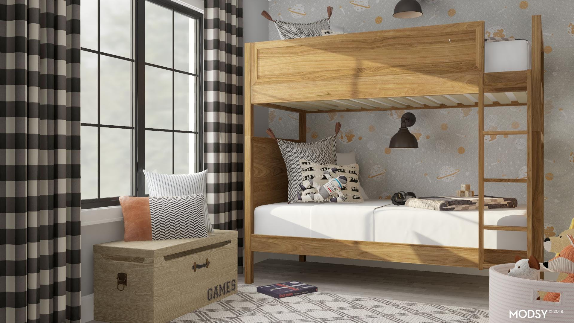 Space For Two: Kid's Bedroom Design