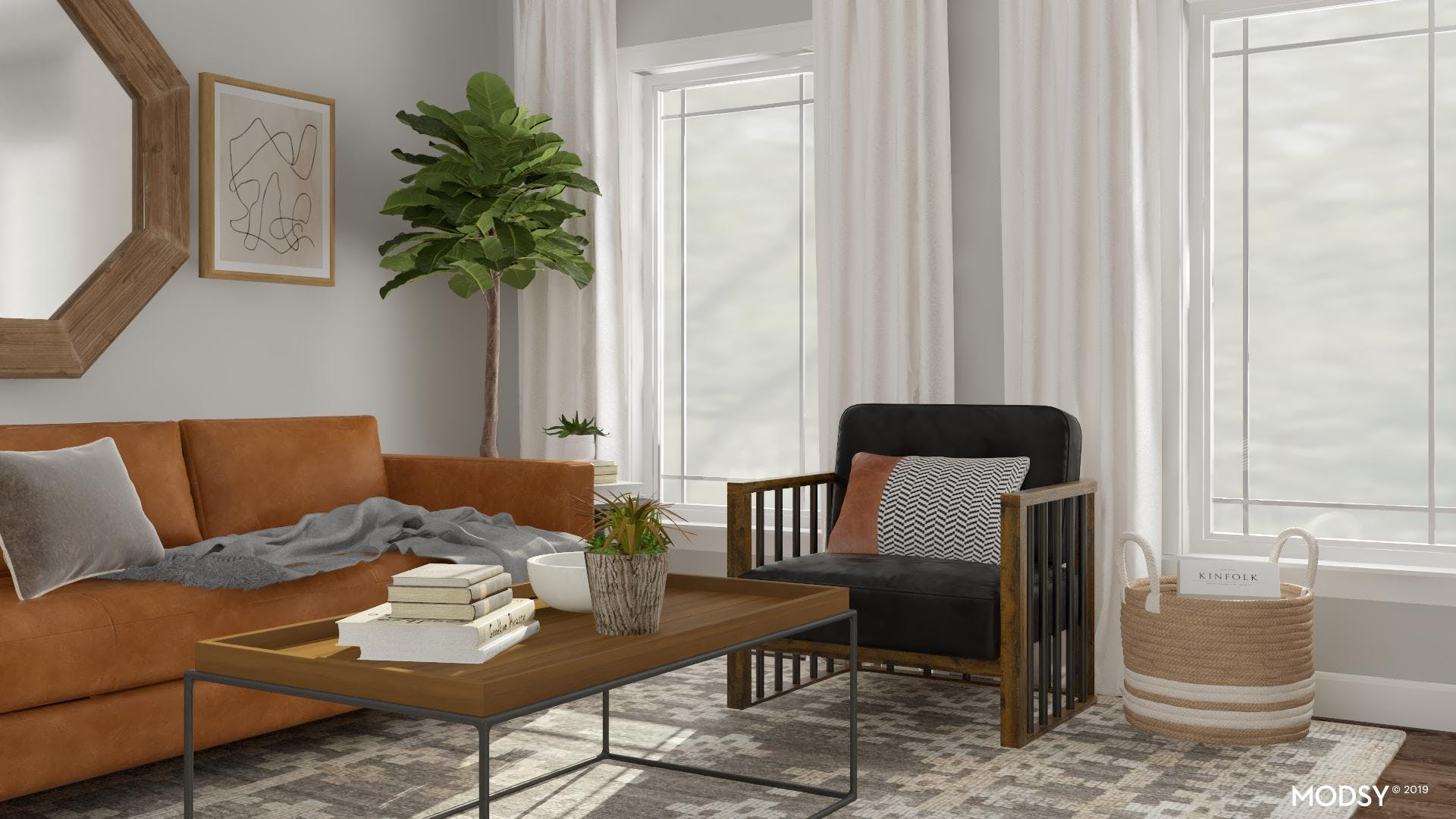 Balancing Cool Neutral Tones With Warm Accents