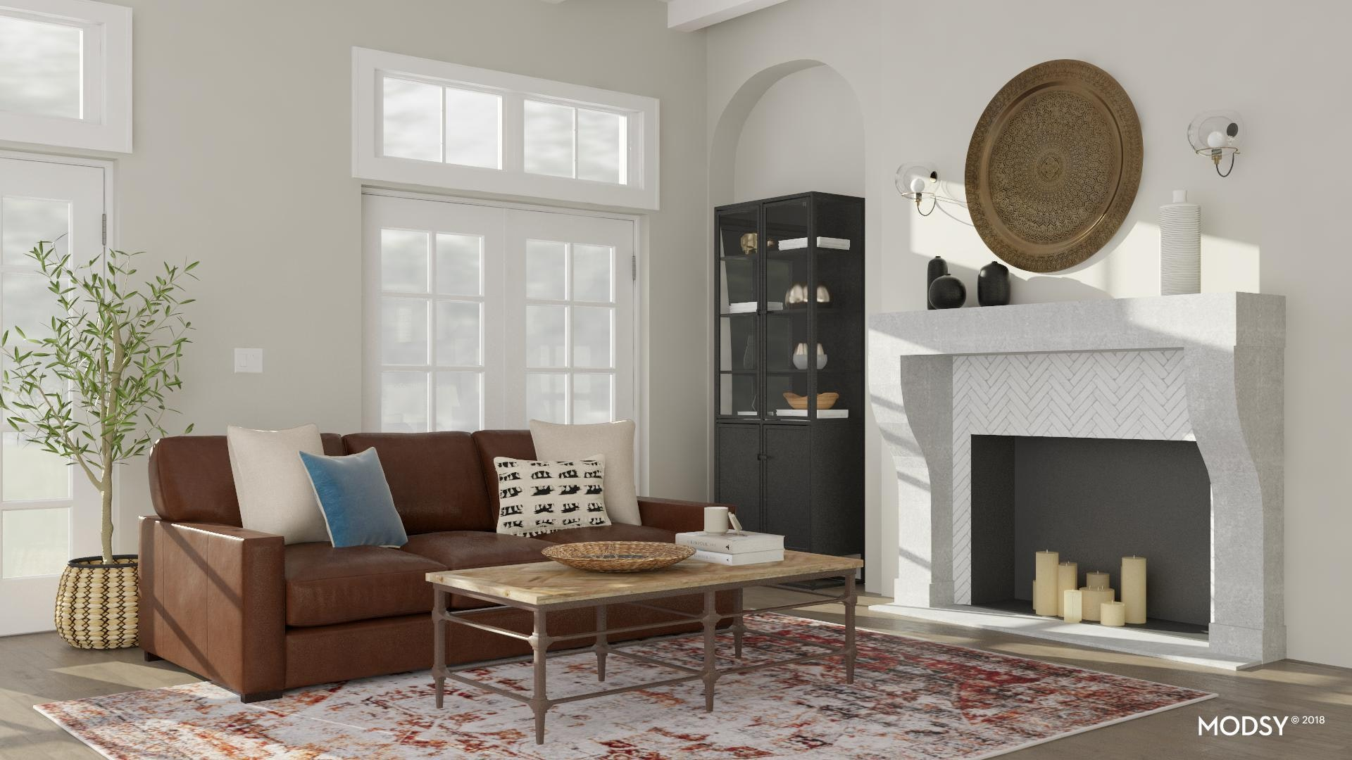 Transitional Living Room Design Ideas And Styles From Modsy