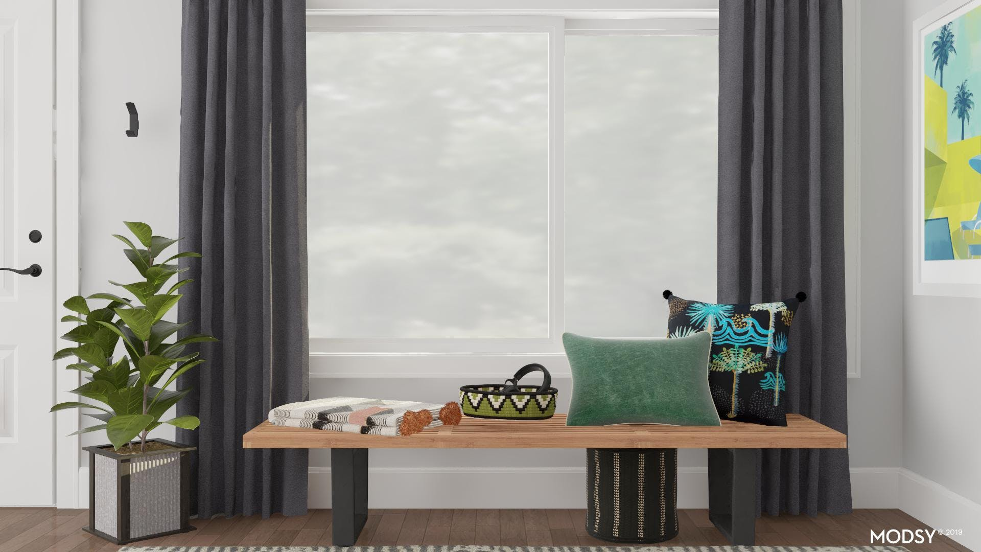 Green & Black Eclectic Bold Look