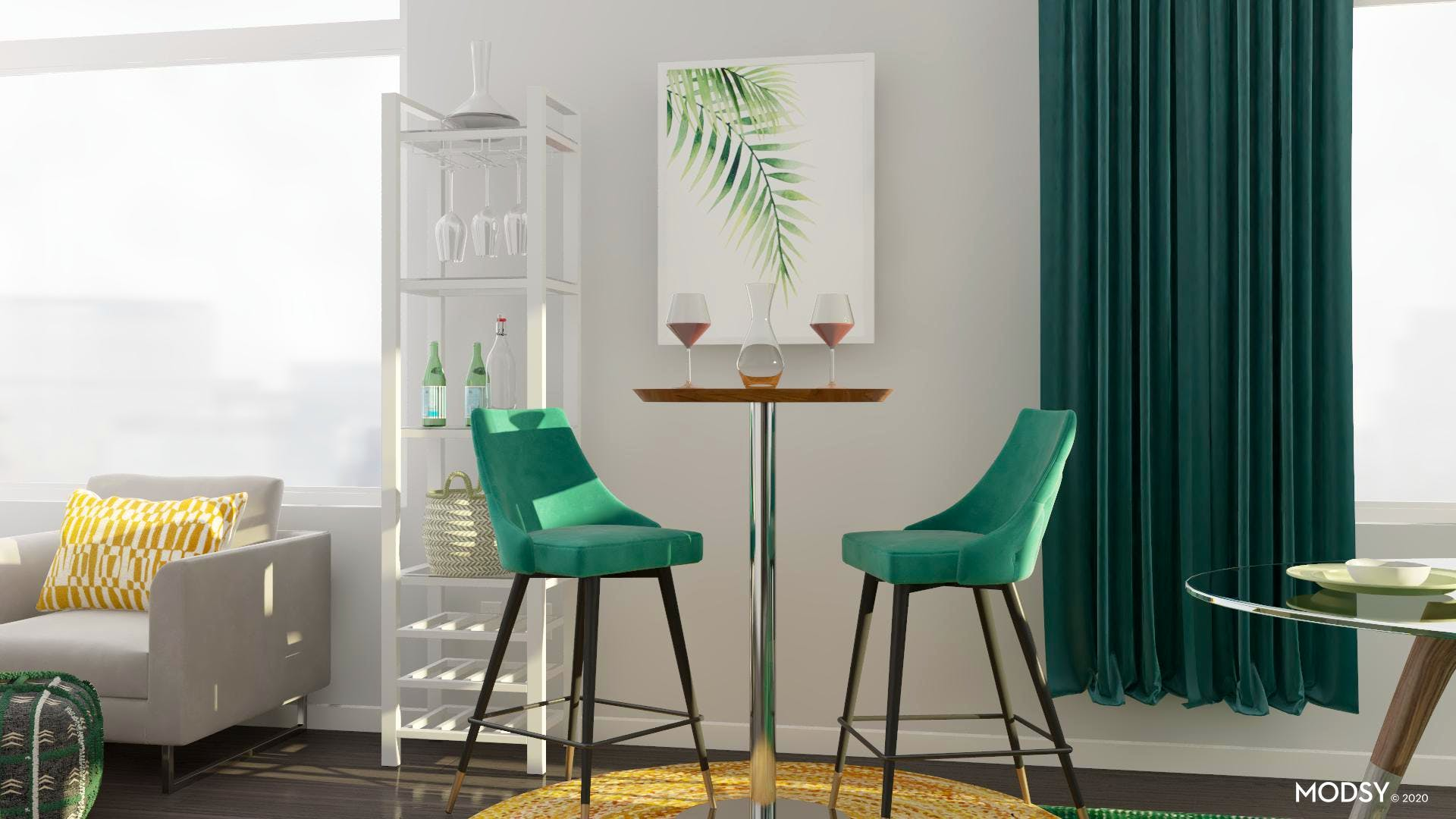 Green with Envy Entertainment Space