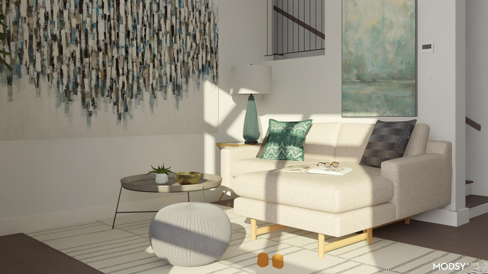 Small But Spacious Living Room