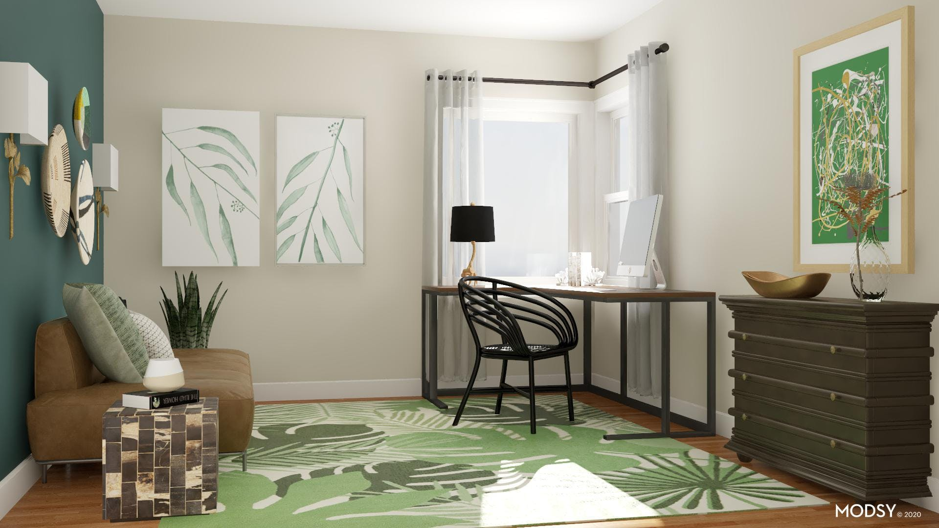 Eclectic Greenery