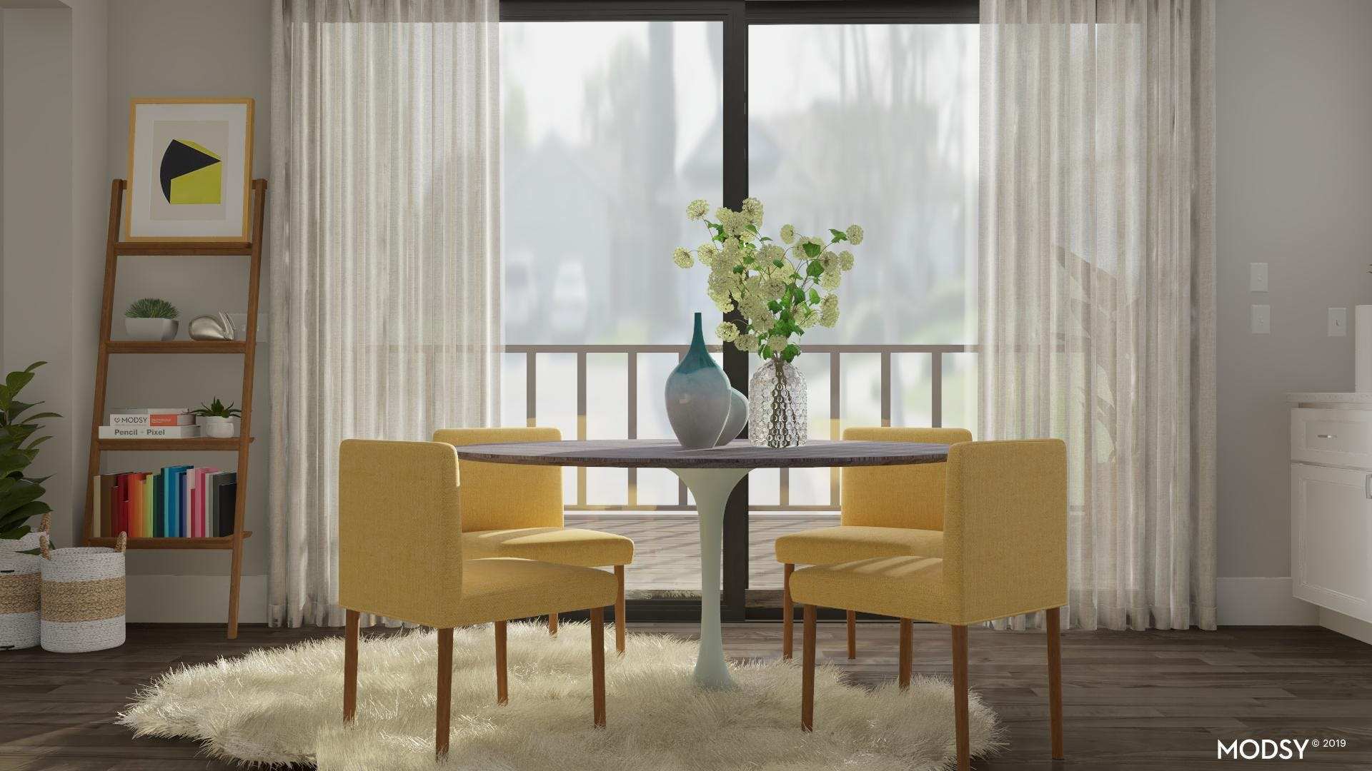 A Chic Dining Room Touch