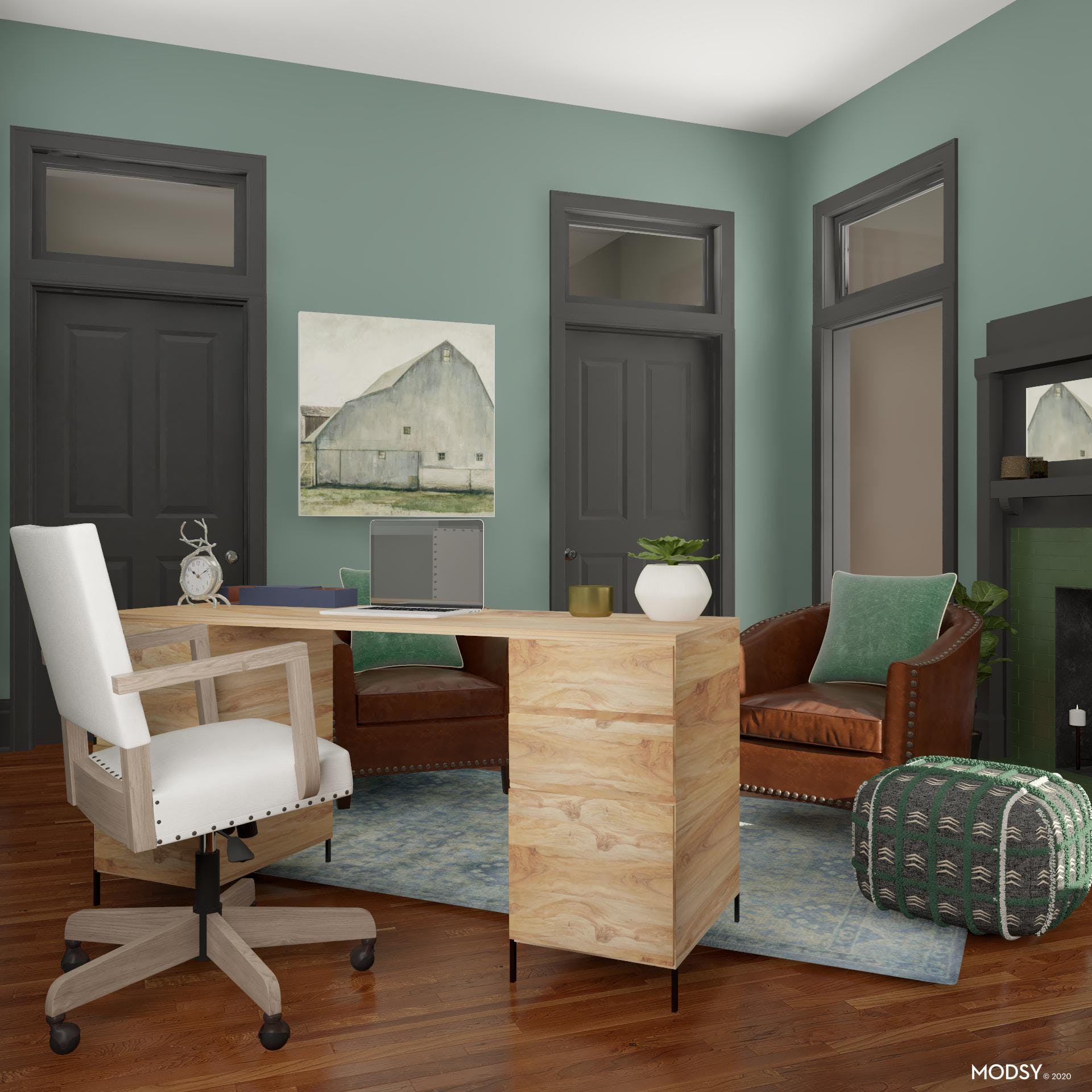 Rustic Woods: Office Details