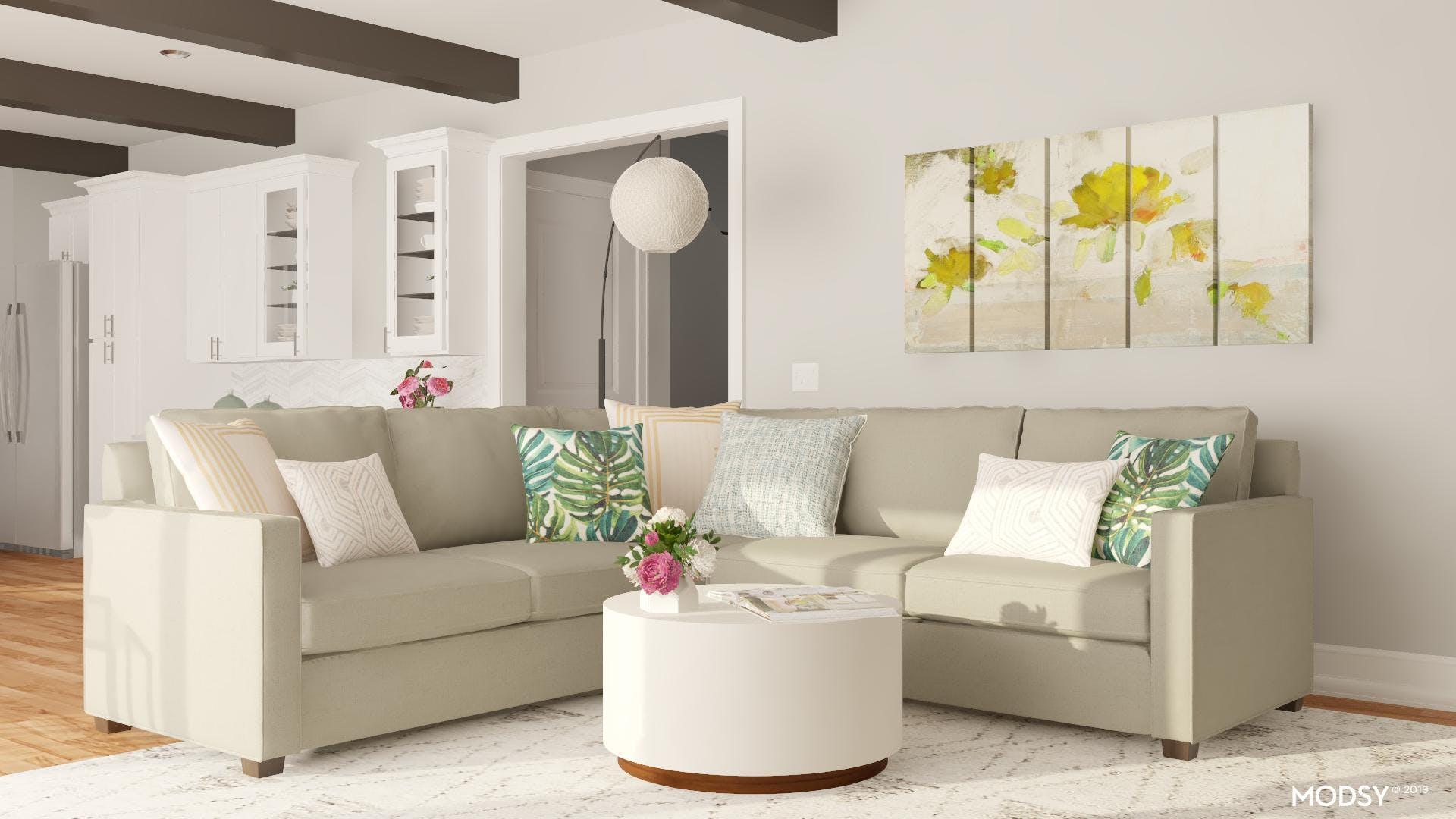 Tailored Contemporary Sectional