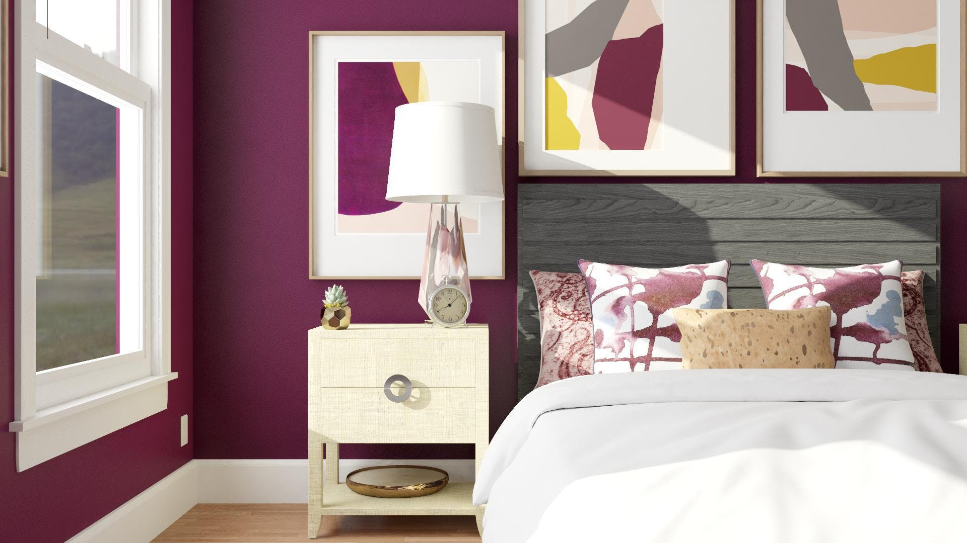 Eclectic Style: Dresser And Mirror
