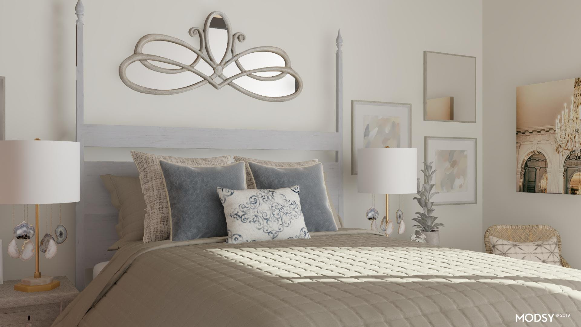From Blah To Brilliant: Rustic Bedroom