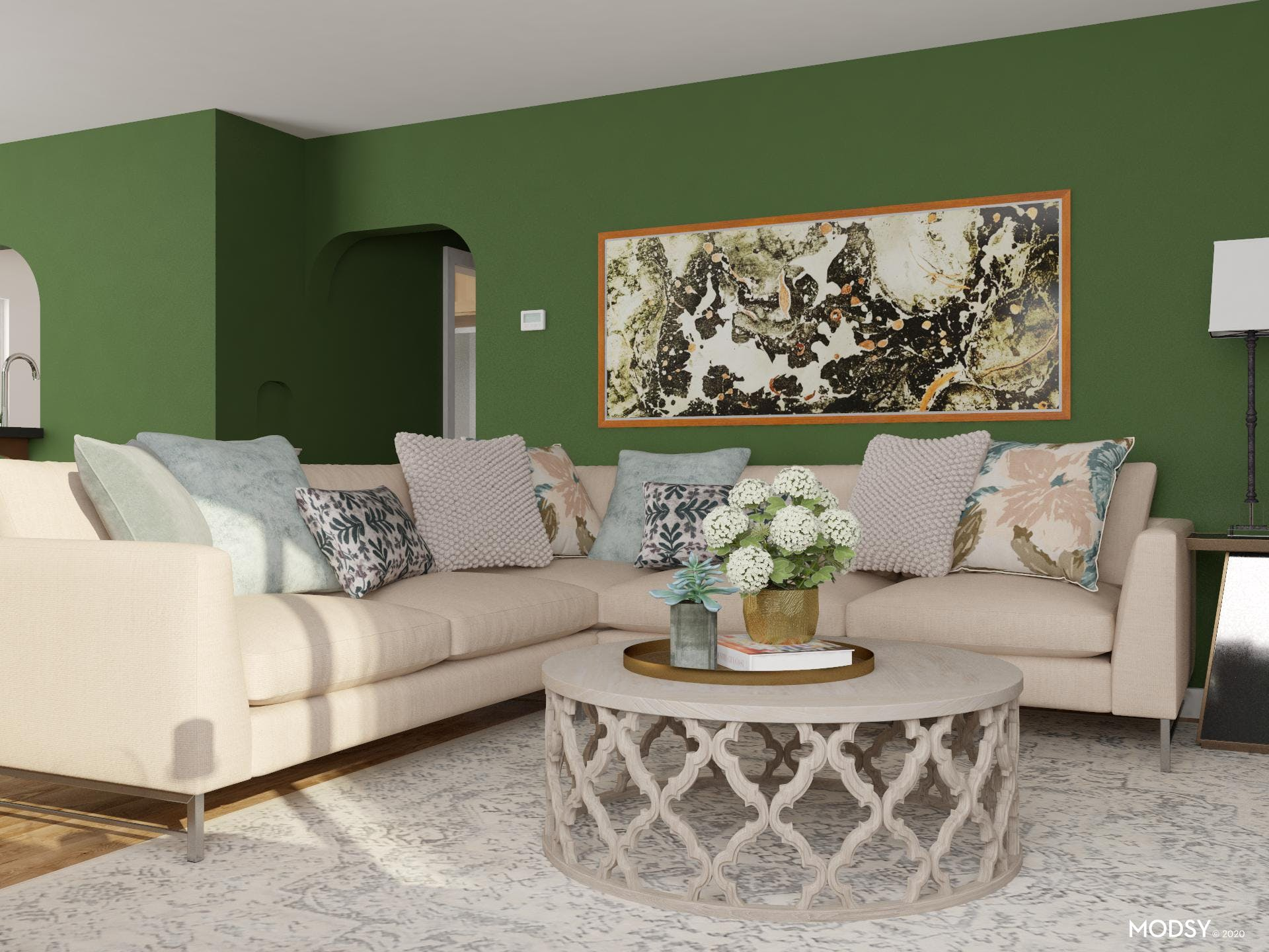 Traditional Living Room