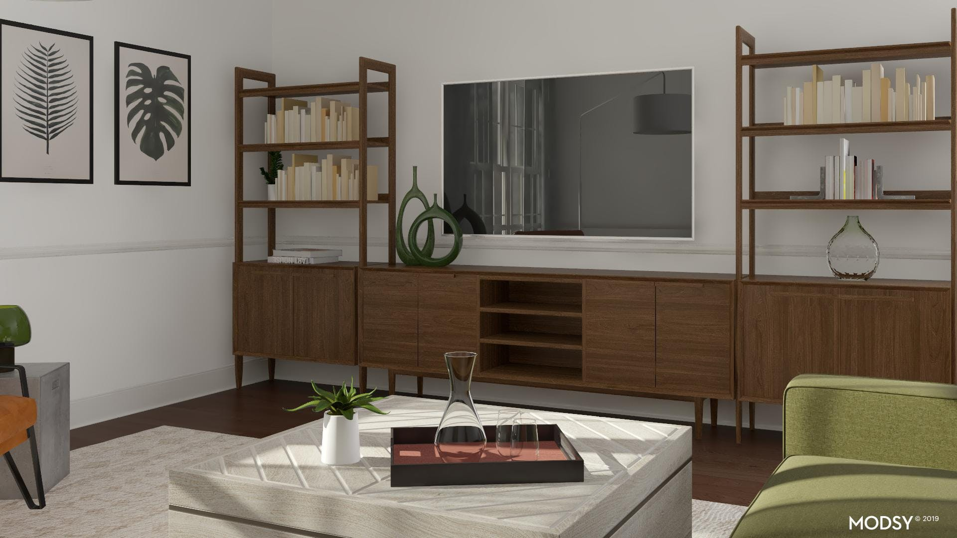 Modern Layout: TV Solutions