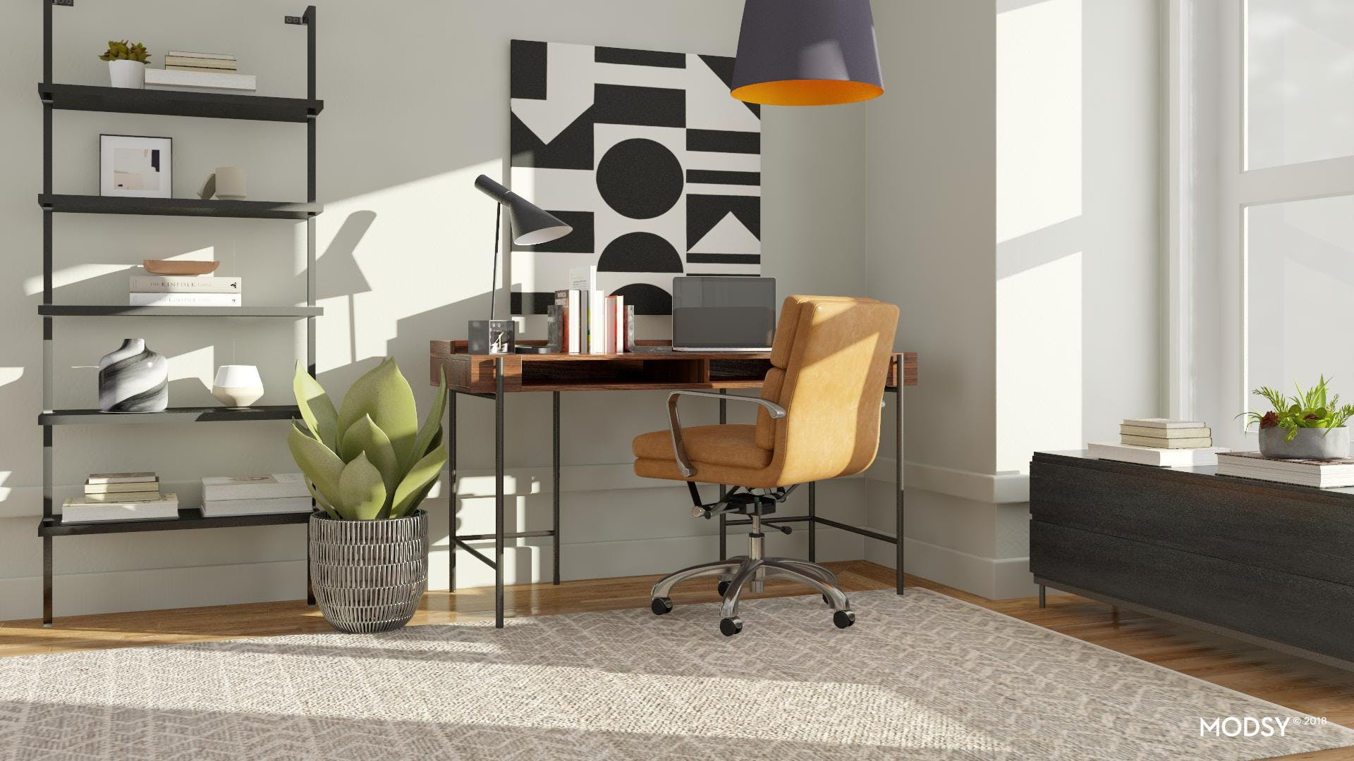 Making A High-Contrast Palette Work For An Office
