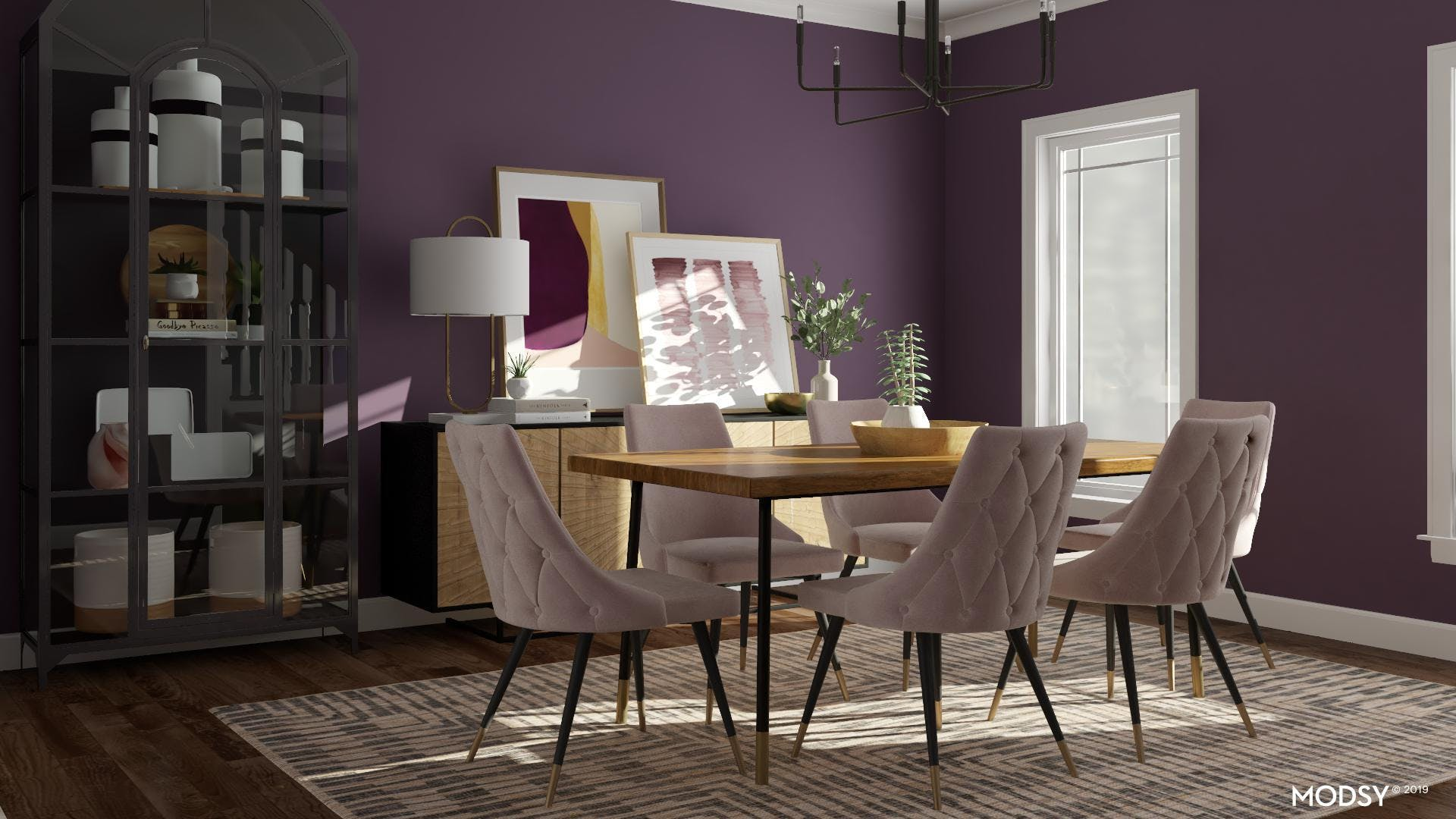 Modern Dining Room With An Unexpected Twist