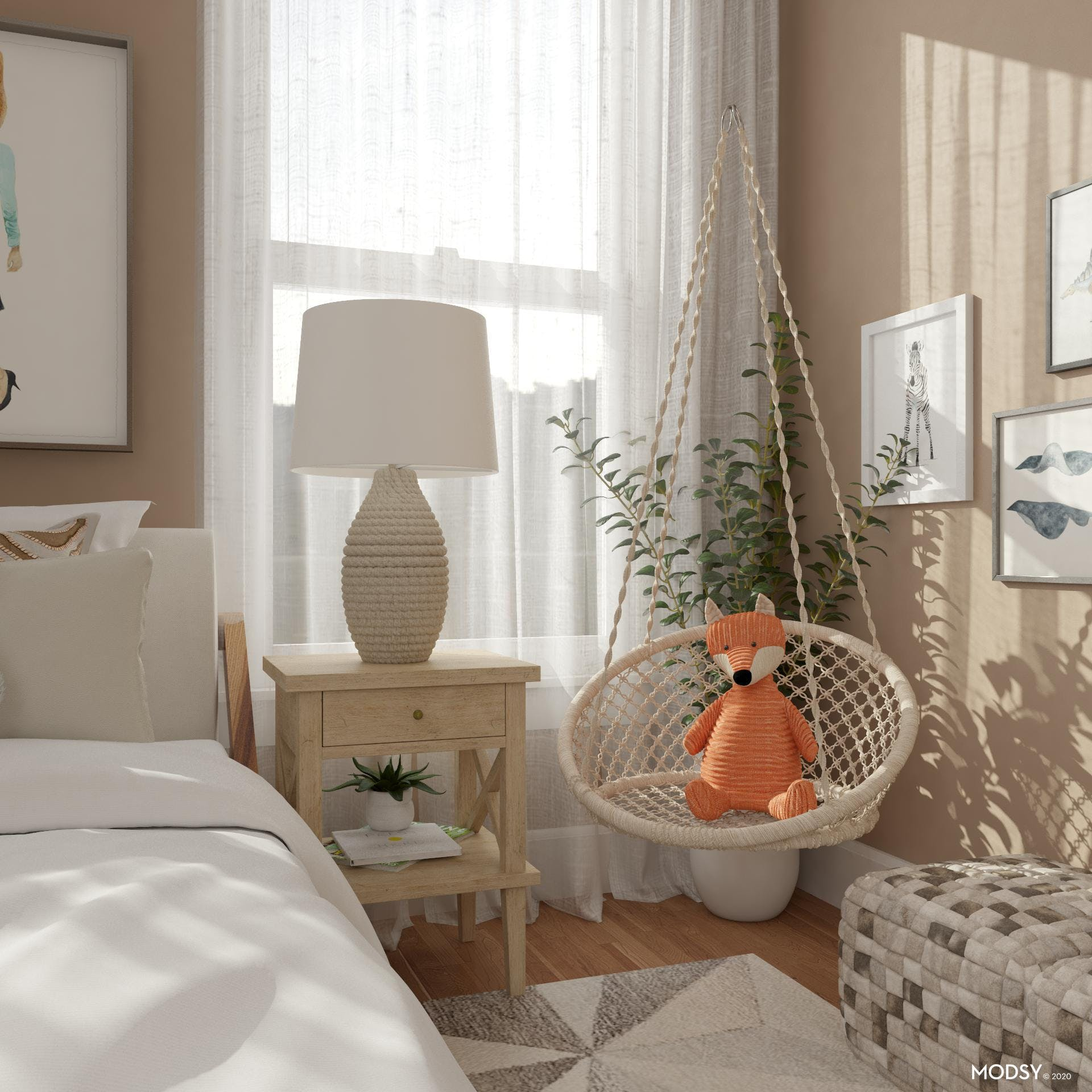 A Playful Child's Bedroom