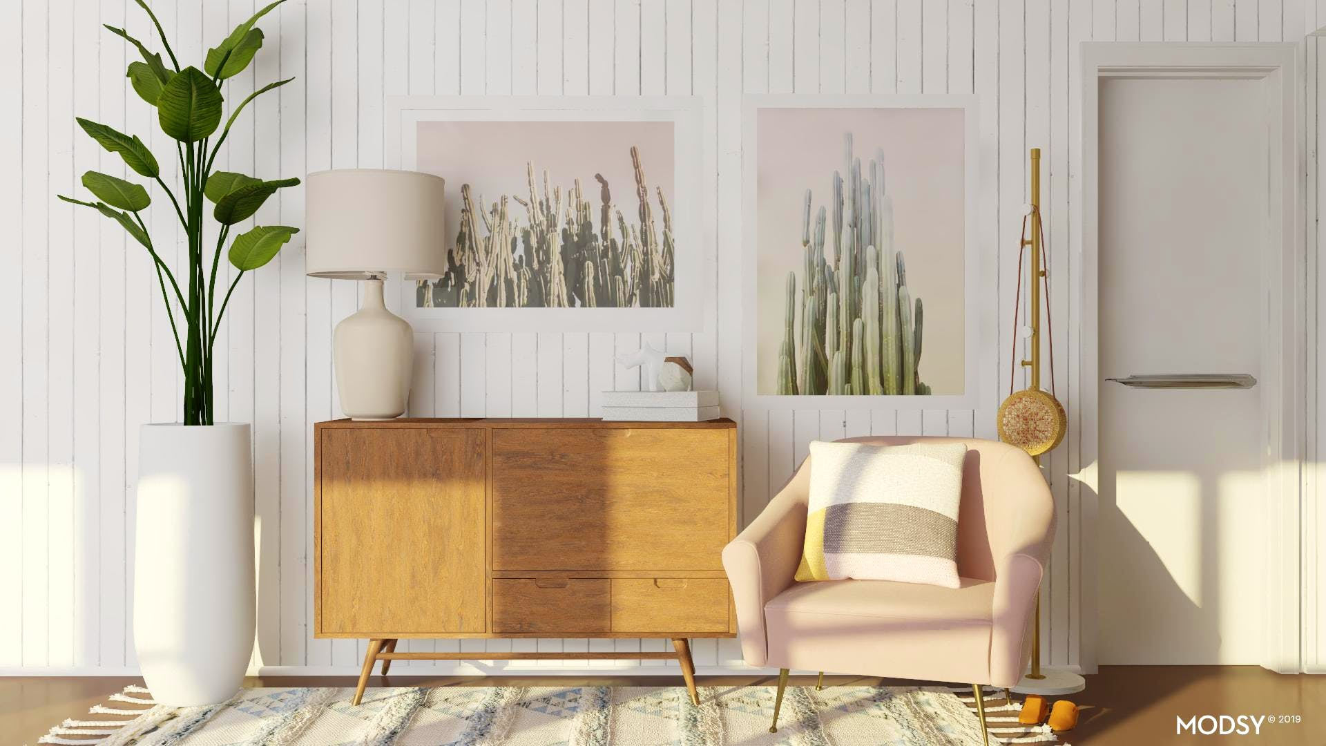 Blush Is Best - Entryway For The Trend Lover