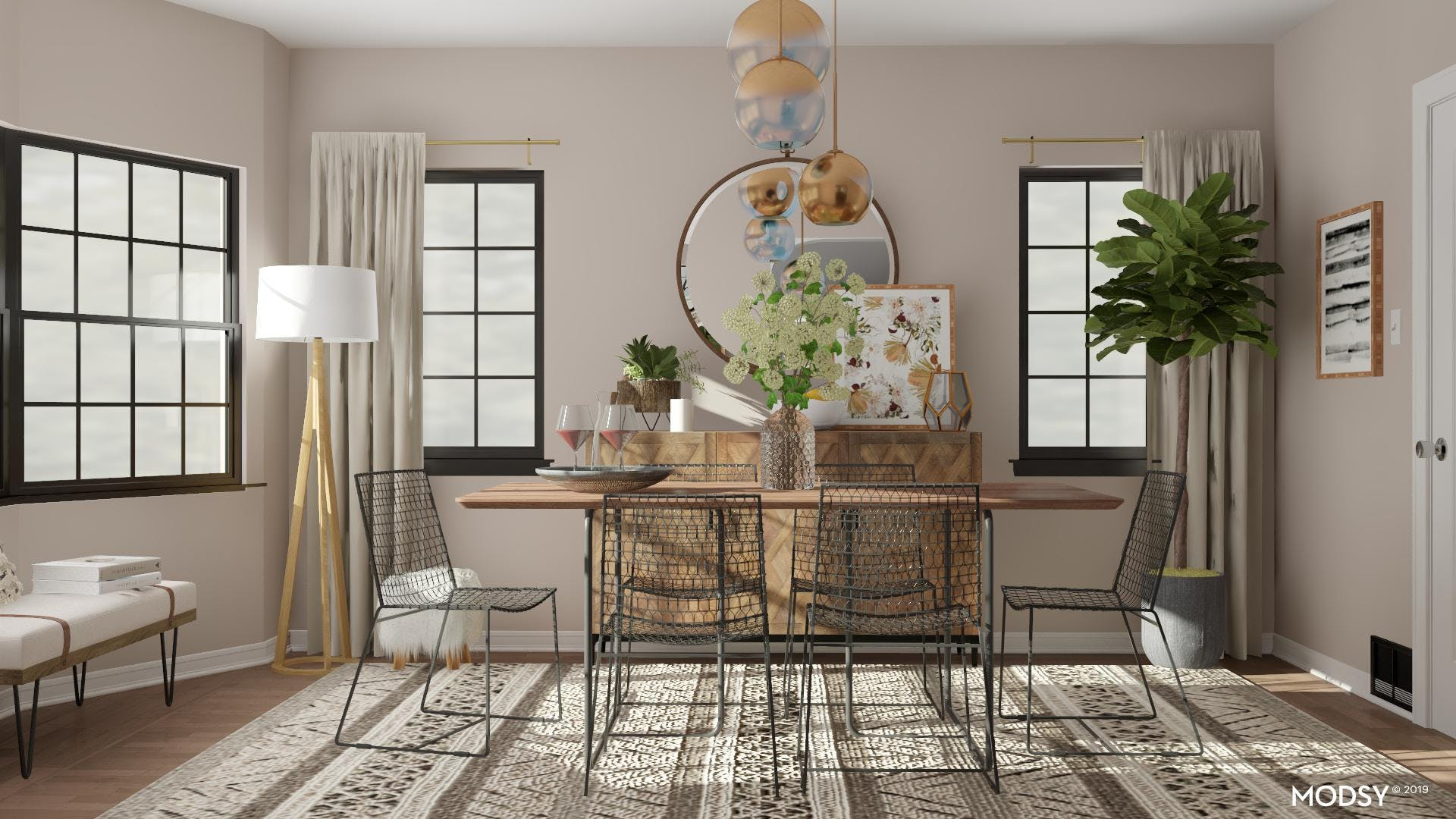A Chic and Eclectic Dream