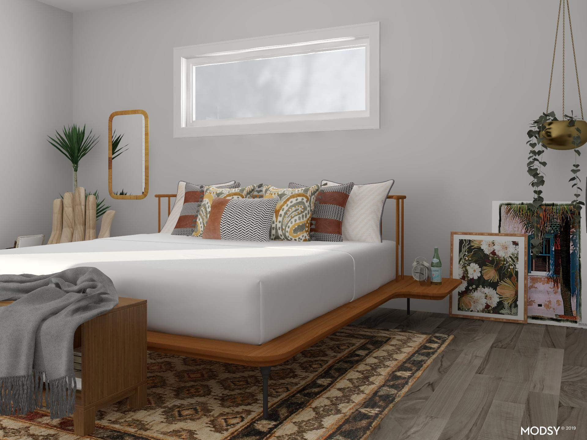 Earth Tones For Days: Bedroom