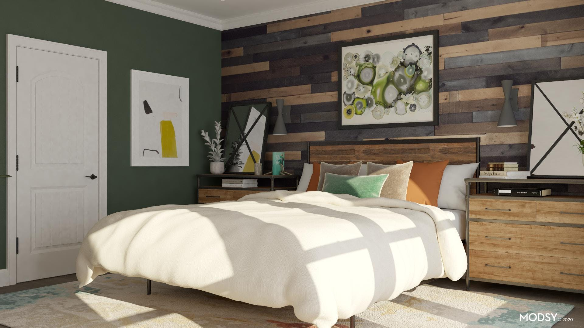 Wooden Feature Wall