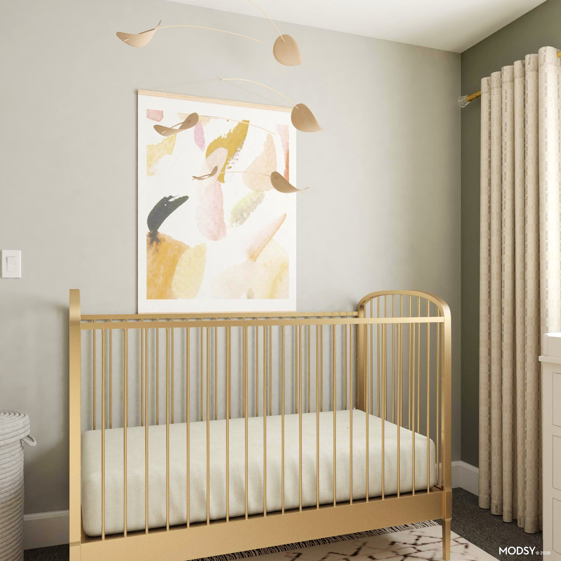 Lovely and Chic Neutral Nursery