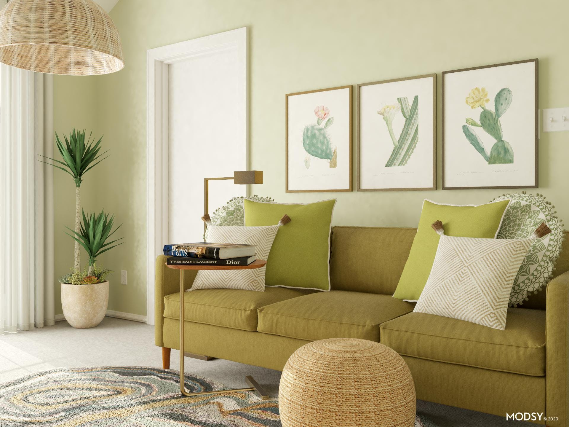 Cool Greens: Cool Mid-Century