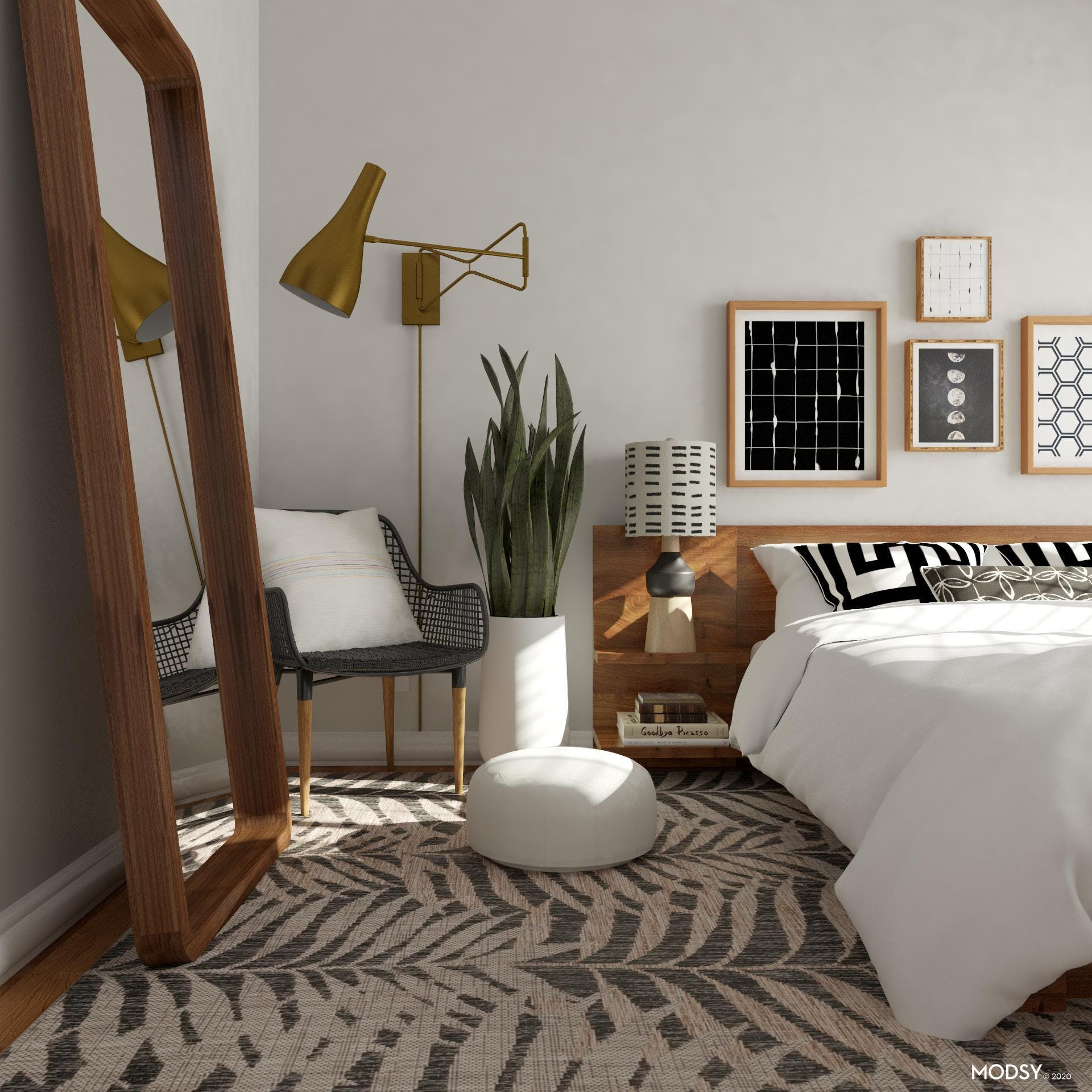 Geomeclectic: Bedroom
