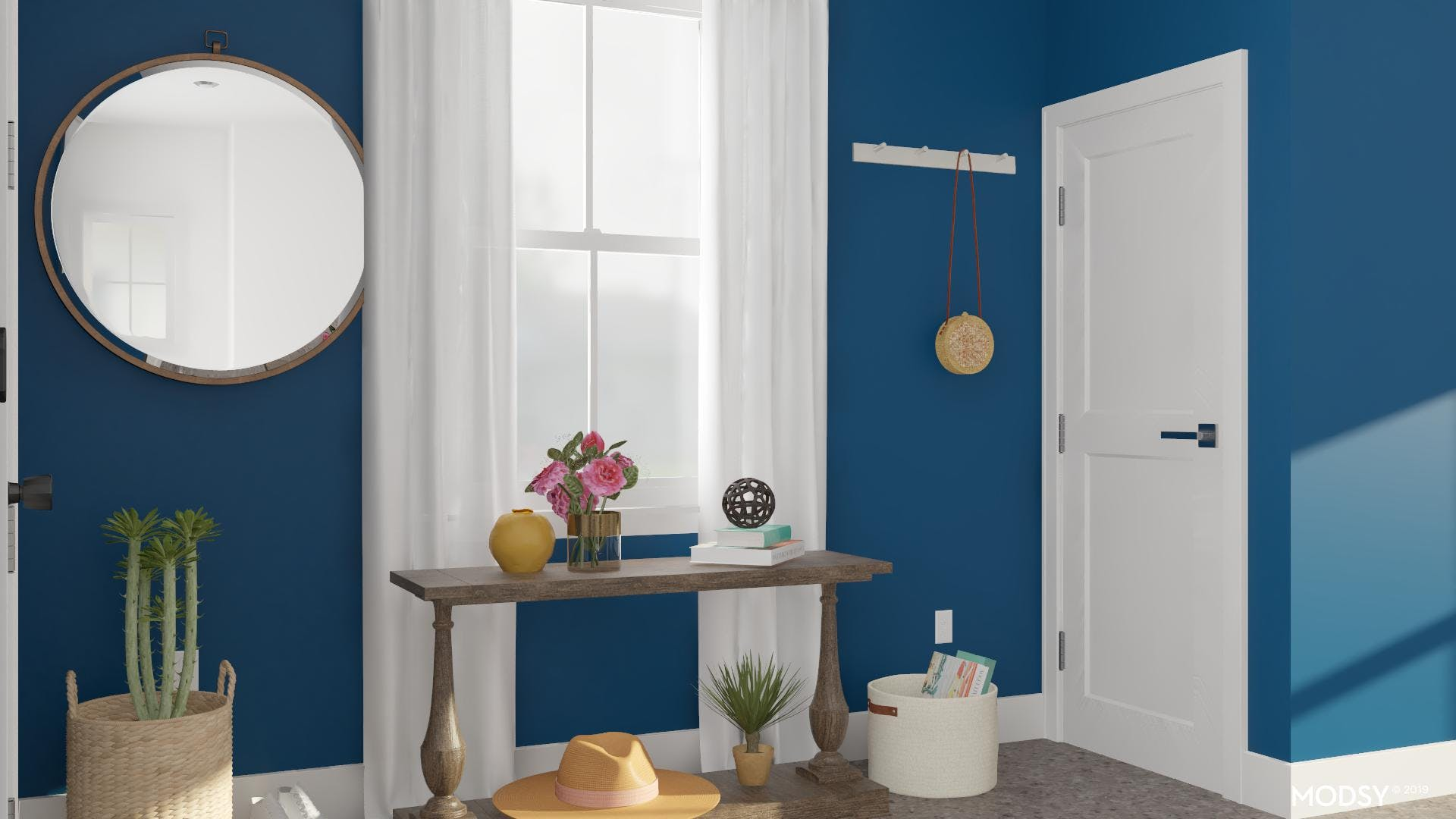 Bright Rustic Entry