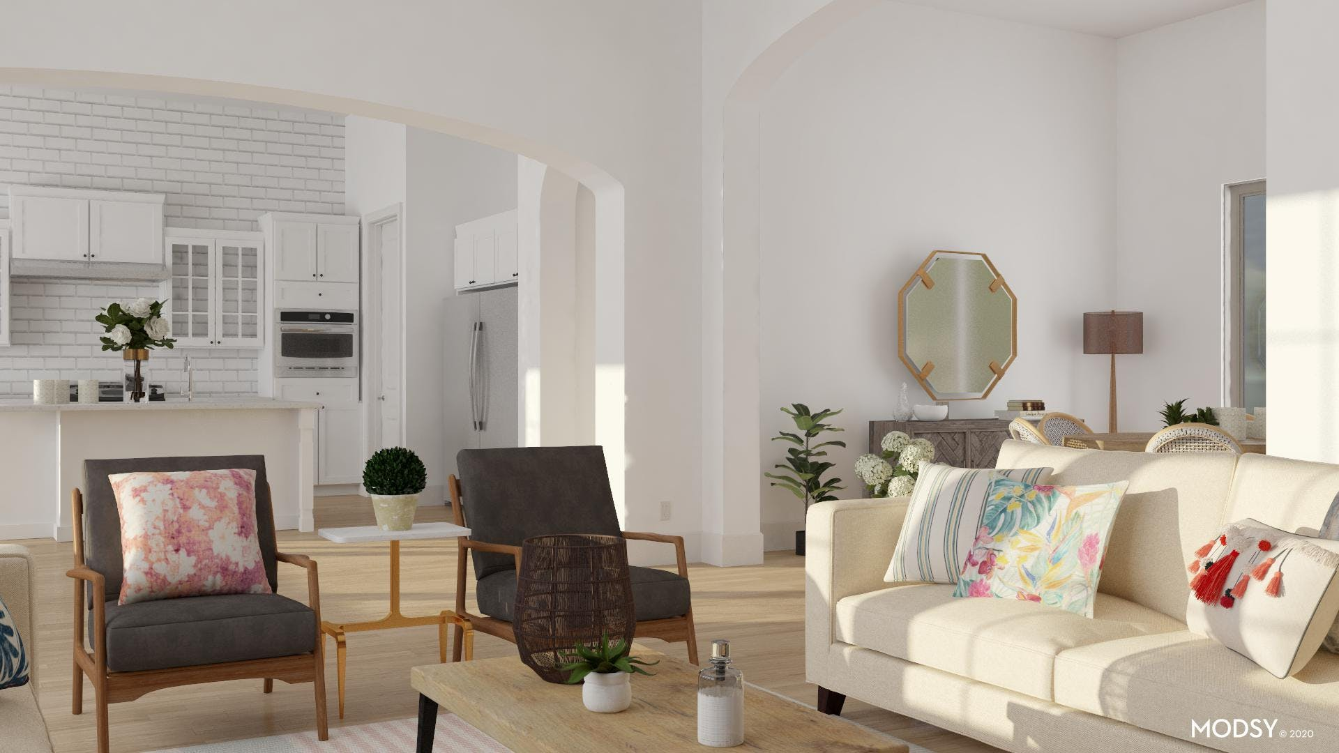 Friendly Living Room: Dogs & Kids Welcome