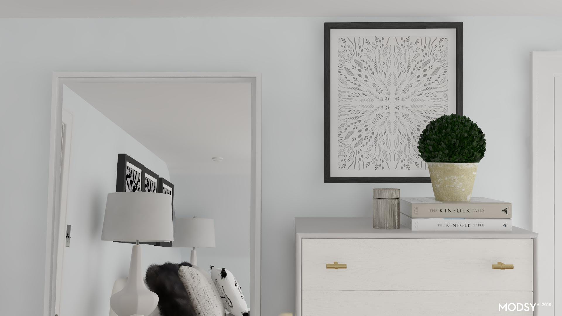 A Bold Design For A Glam Bedroom
