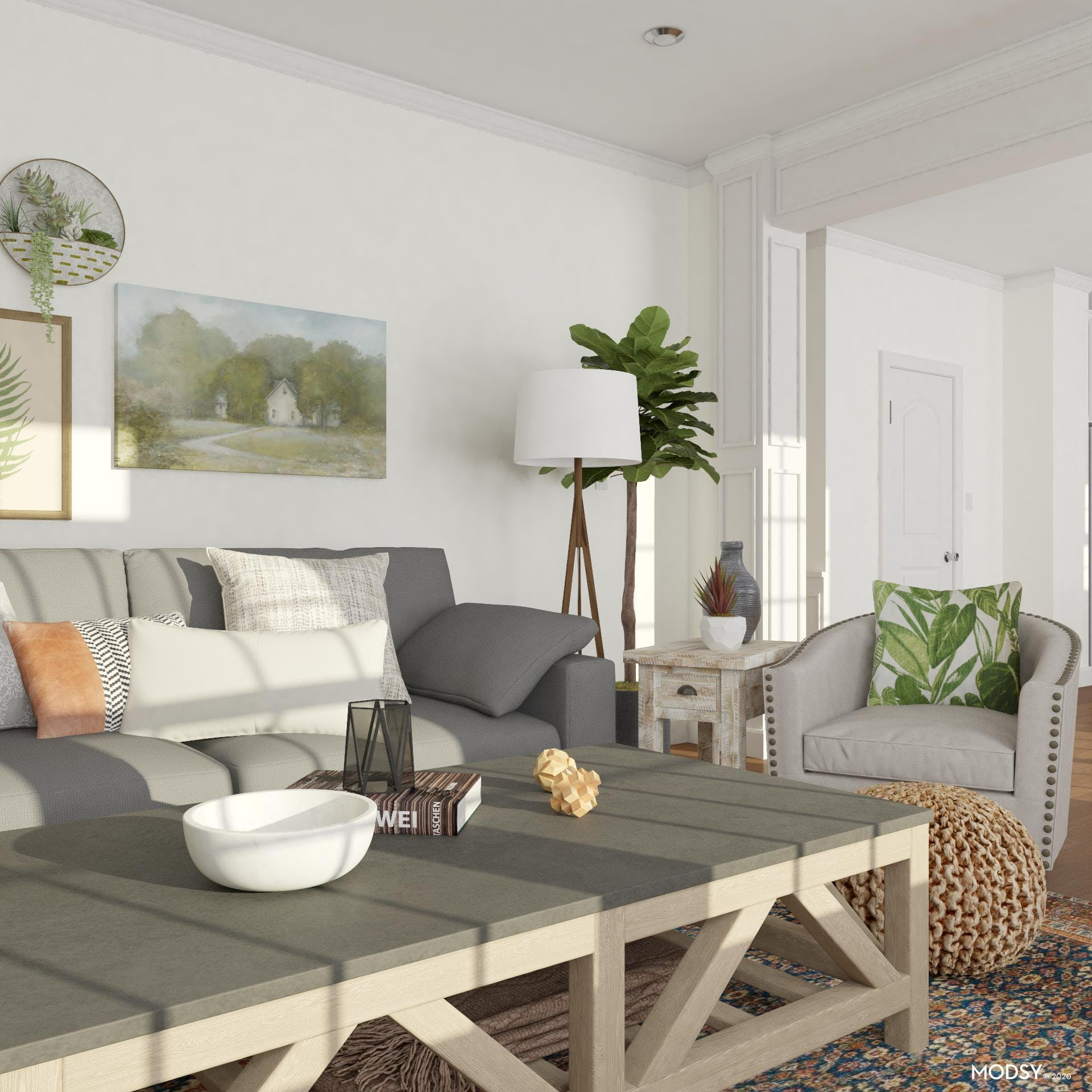 Mother Nature: Rustic Living Room