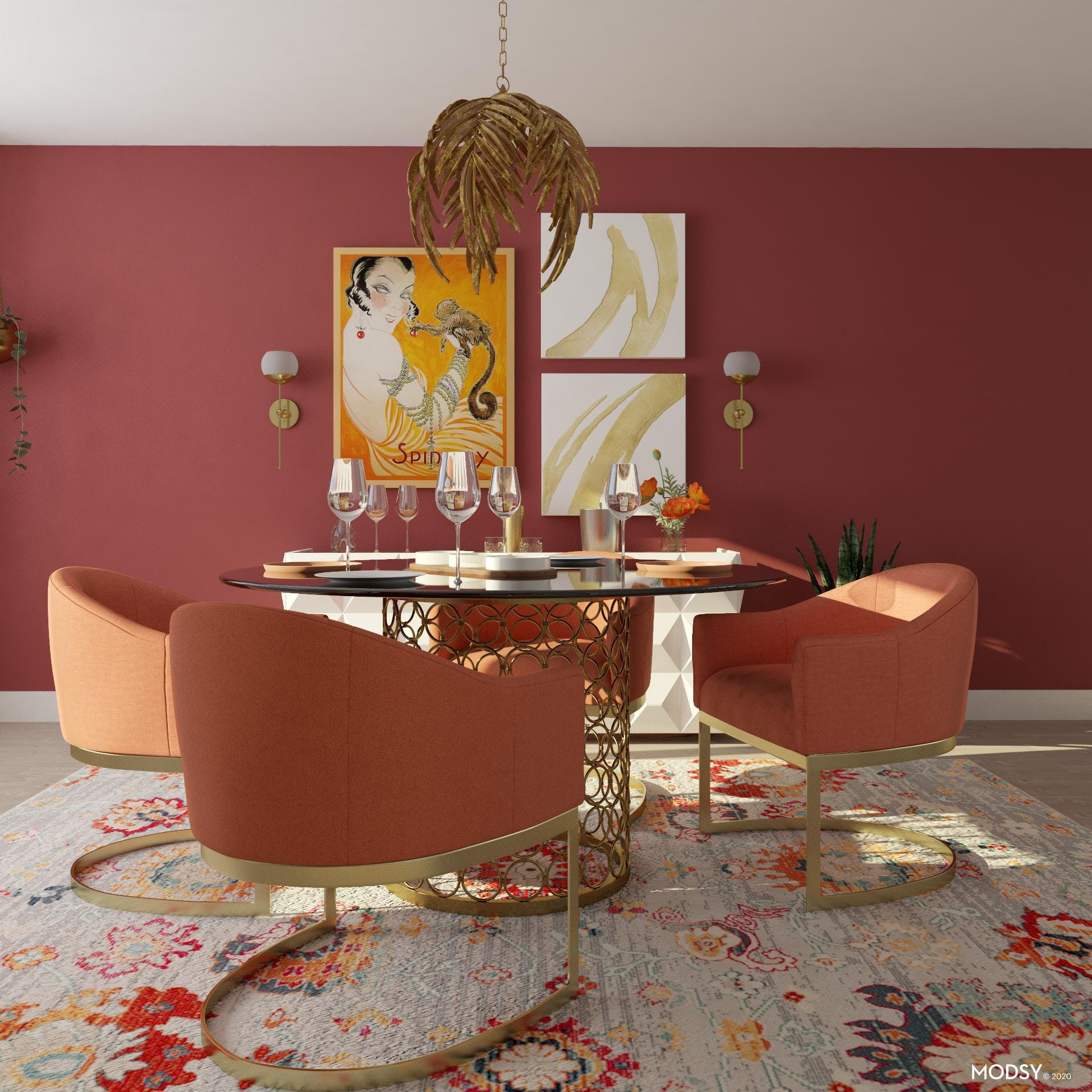 Glam Dining for All Guests