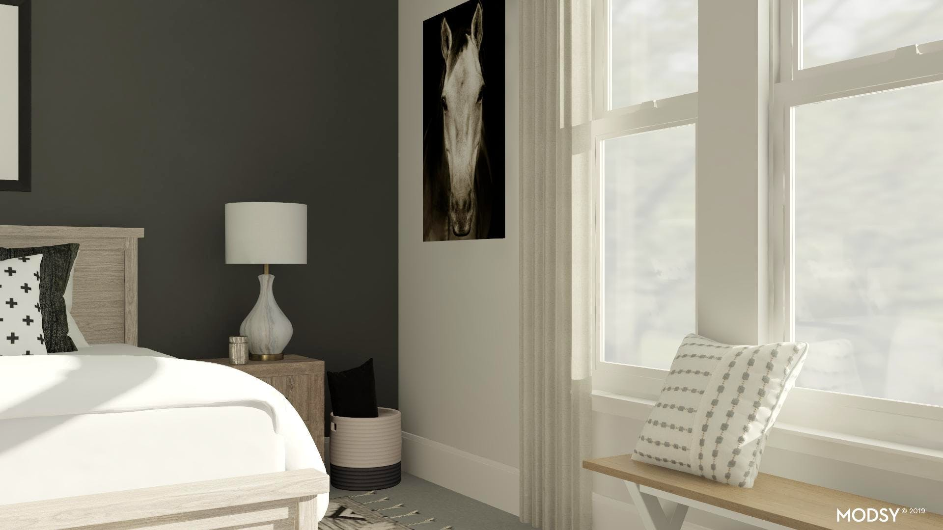 Artful Placements: Art And Wall Colors