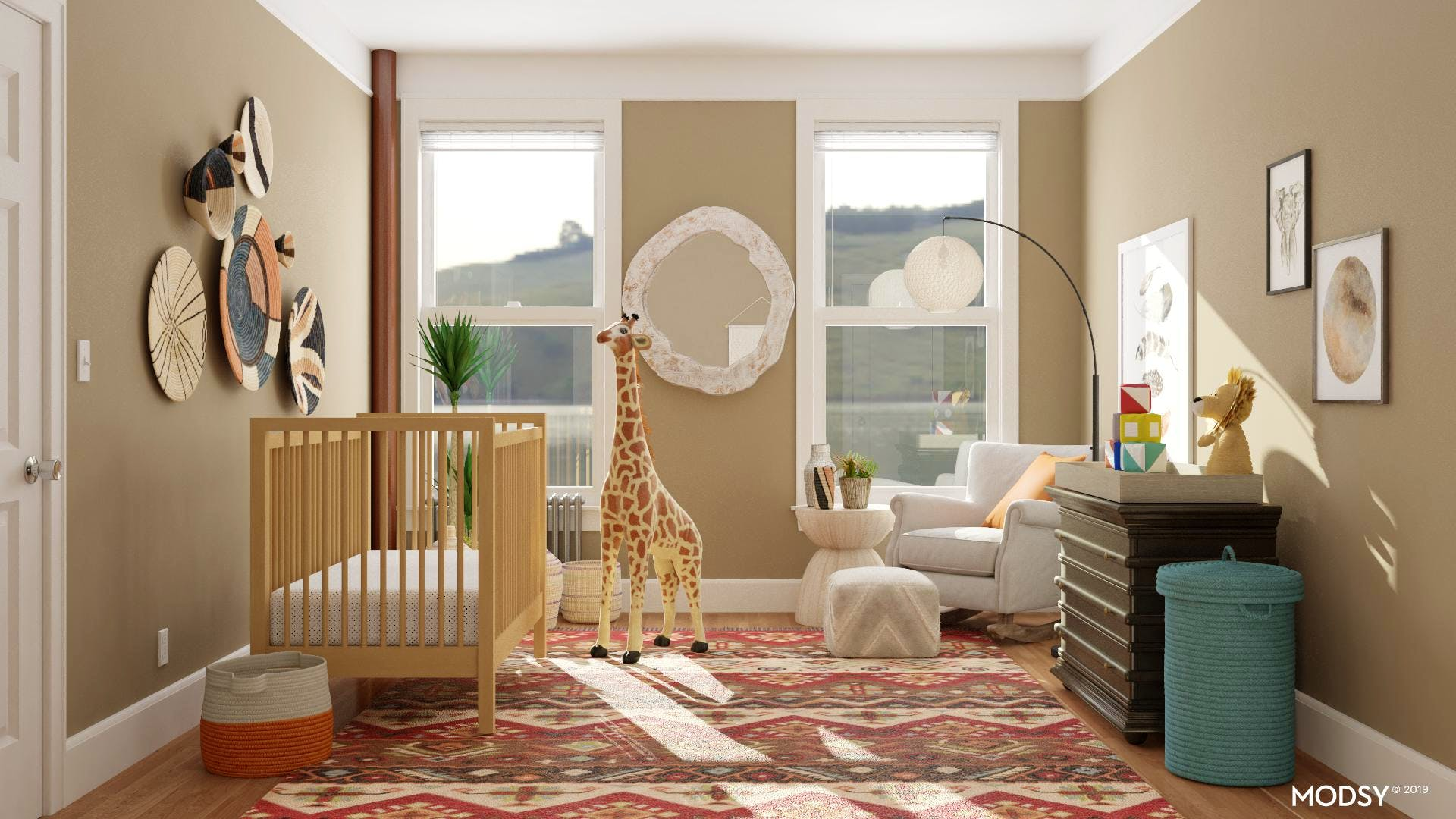 Styling Rusticly: Nursery