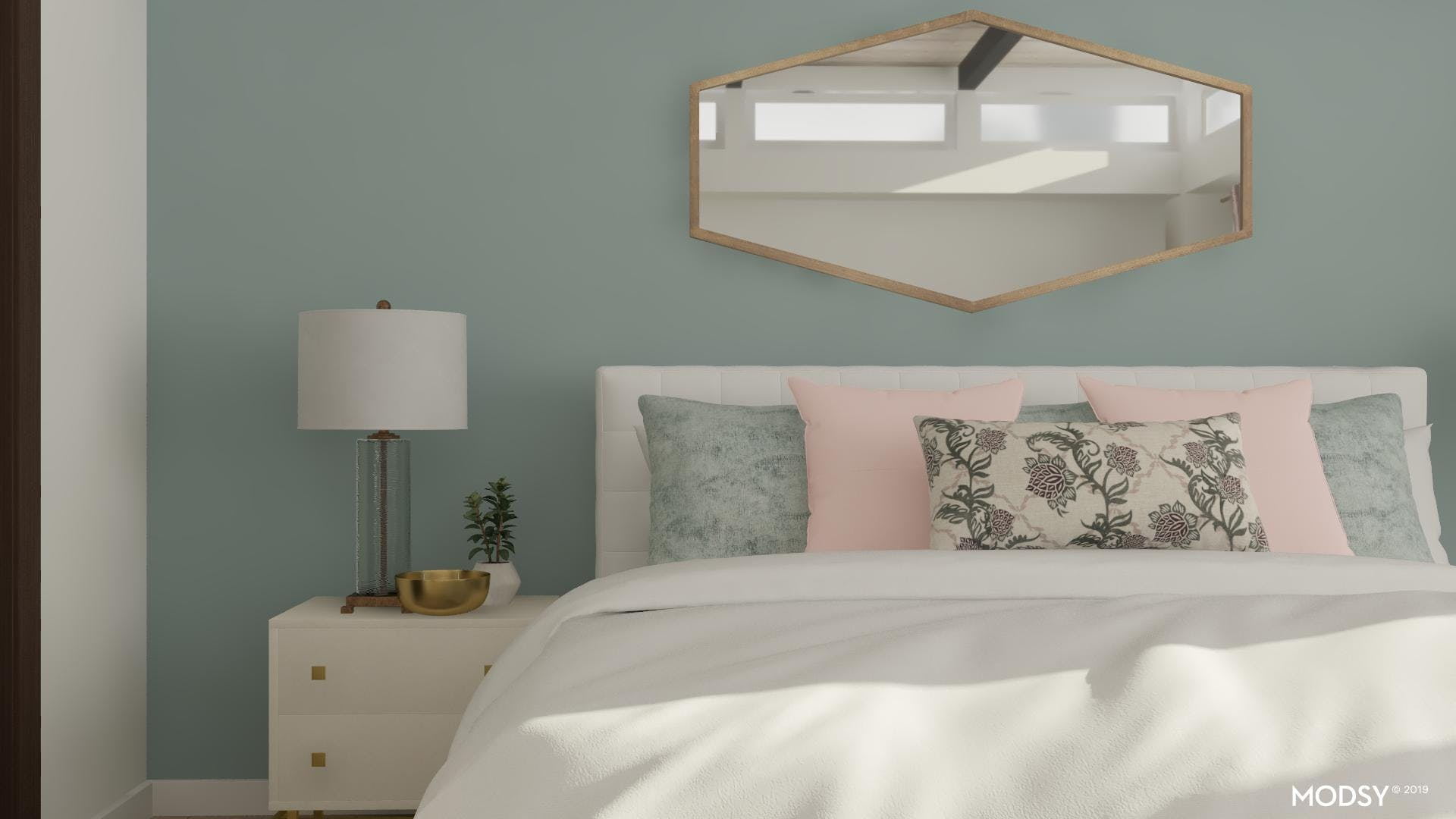 Soft Palette Makes a Luxurious Master Bedroom