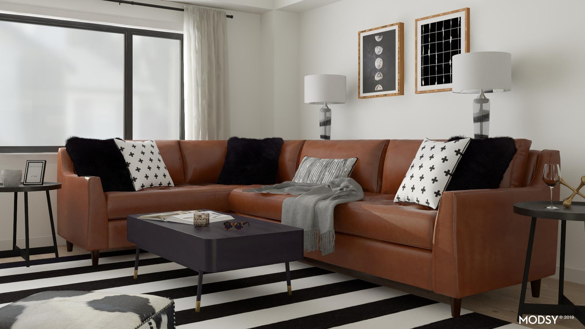A Masculine Touch To Mid-Century Modern Design