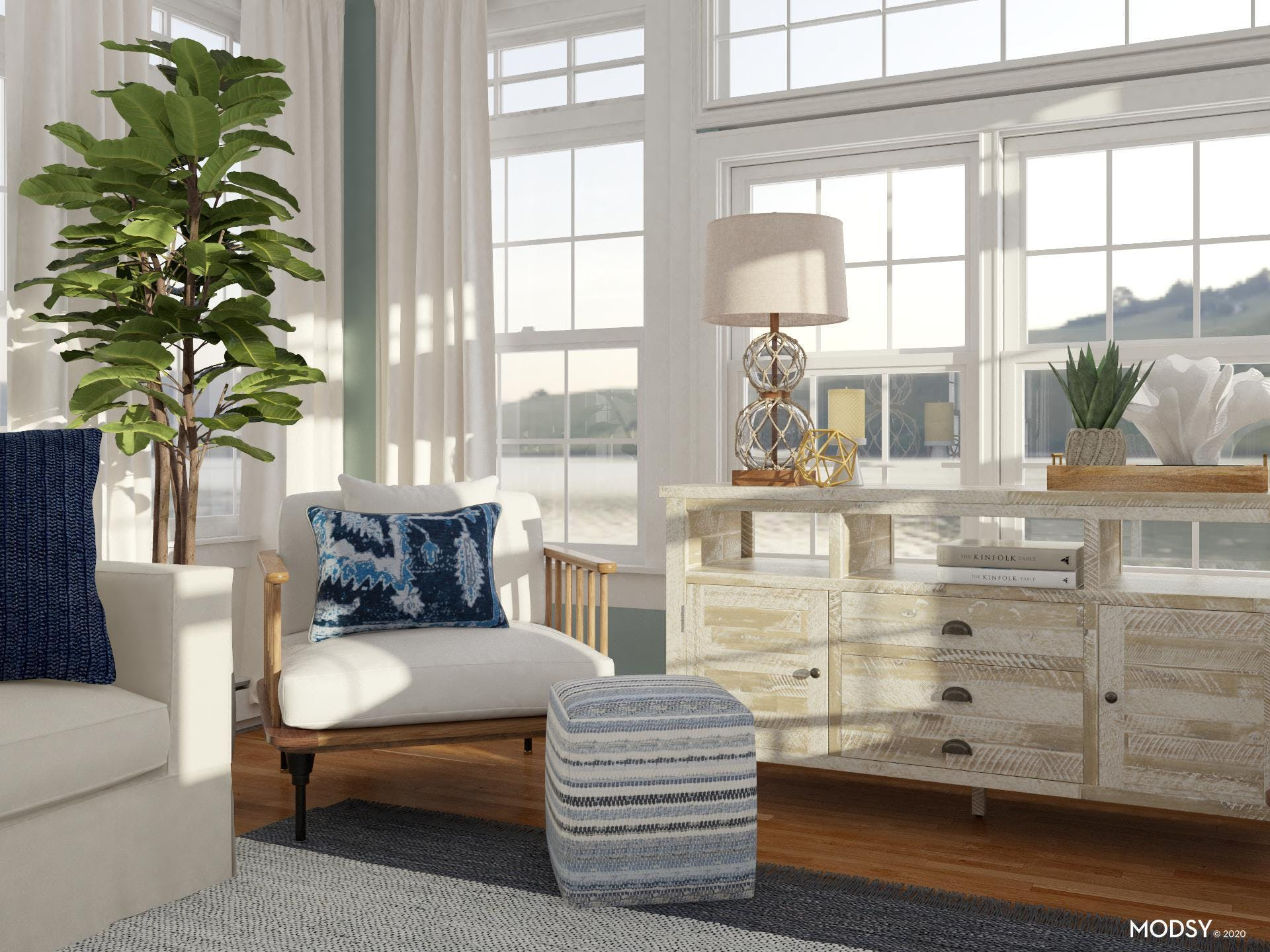 Coastal Accents: Accent Chair
