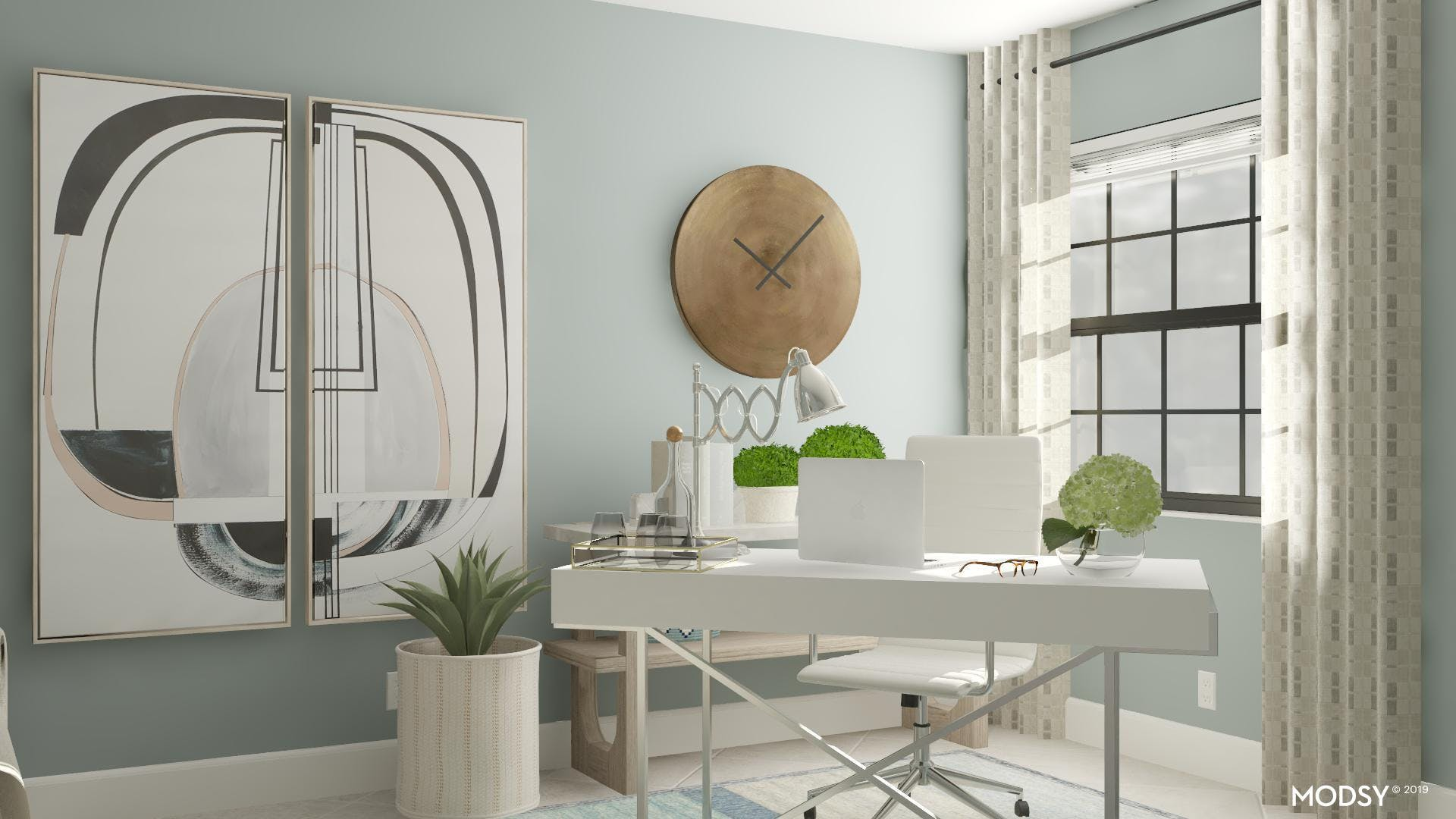 Pastel Office Beyond the Pale
